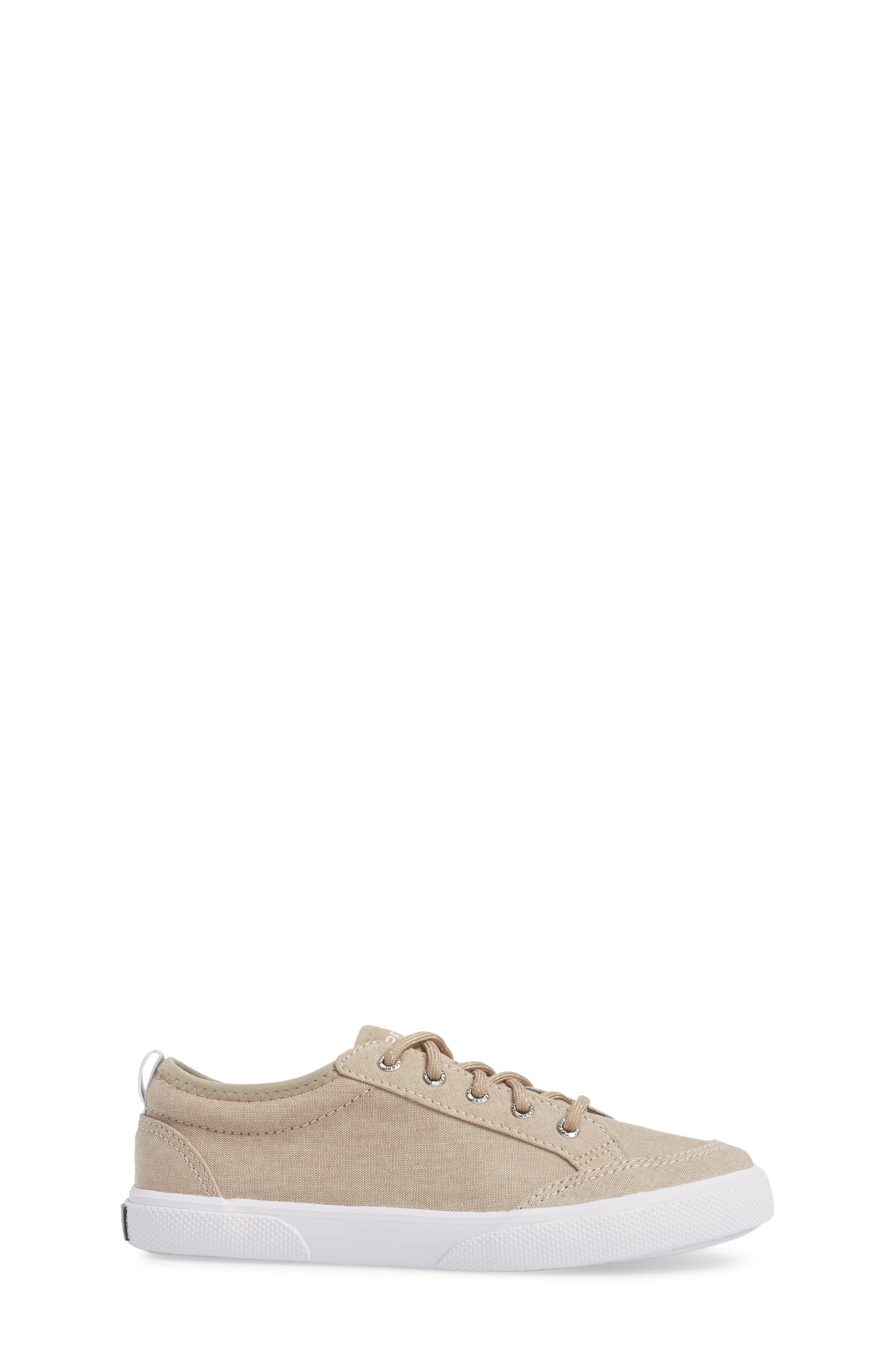 Deckfin Sneaker,                             Alternate thumbnail 3, color,                             Khaki