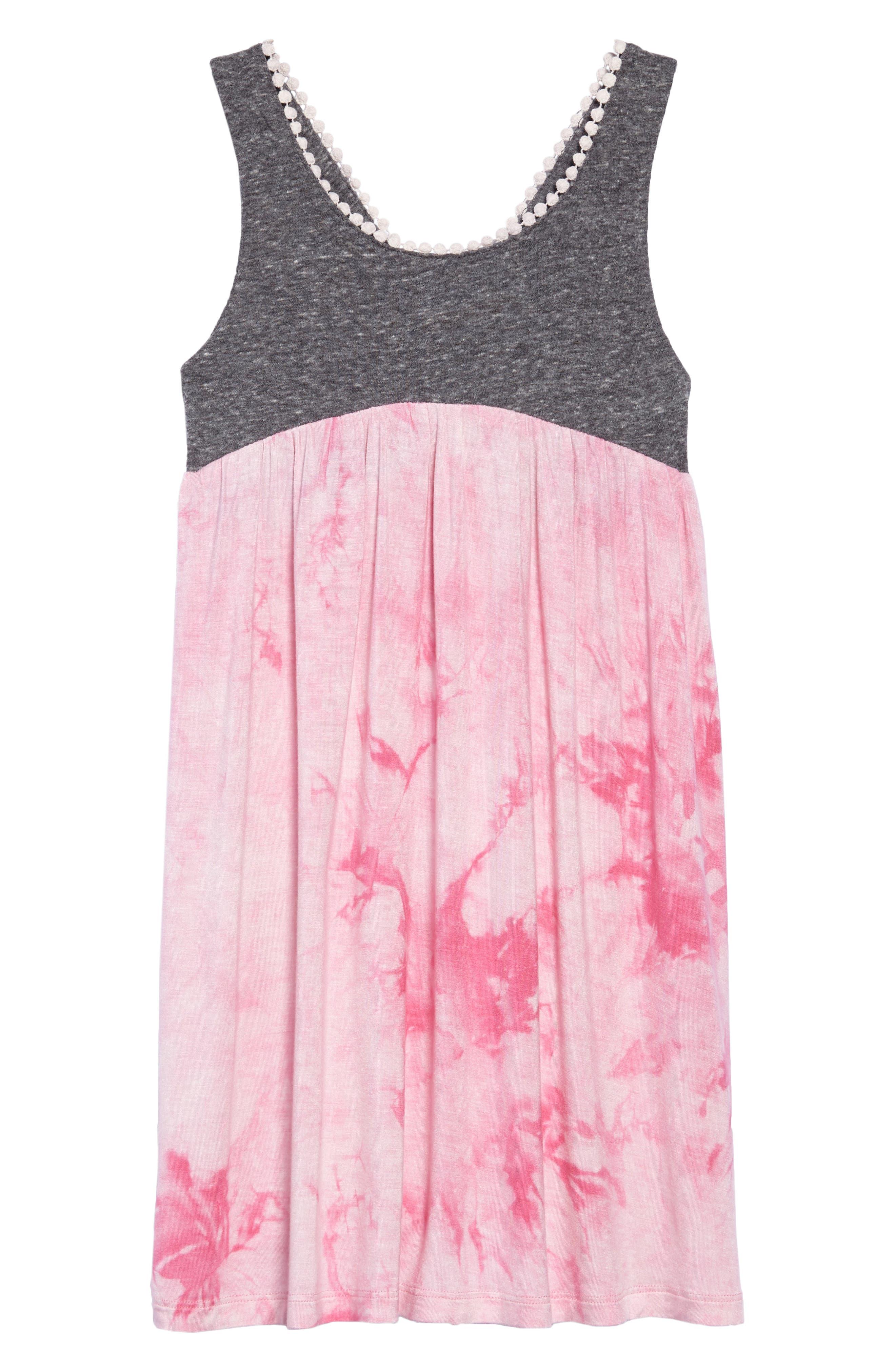 Maren Crisscross Dress,                         Main,                         color, Hippie At Heart
