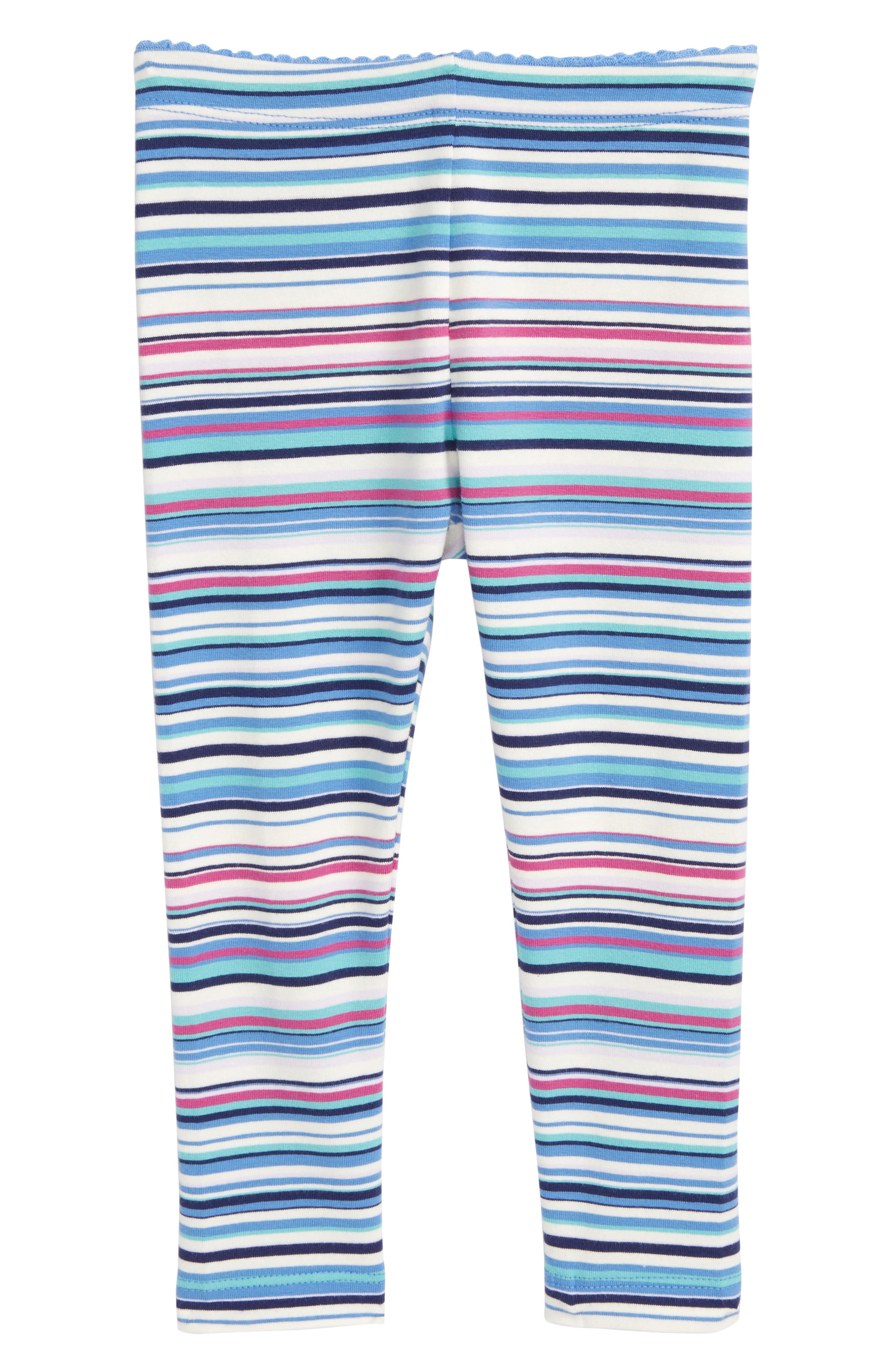 Tea Collection Multistripe Leggings (Baby Girls)