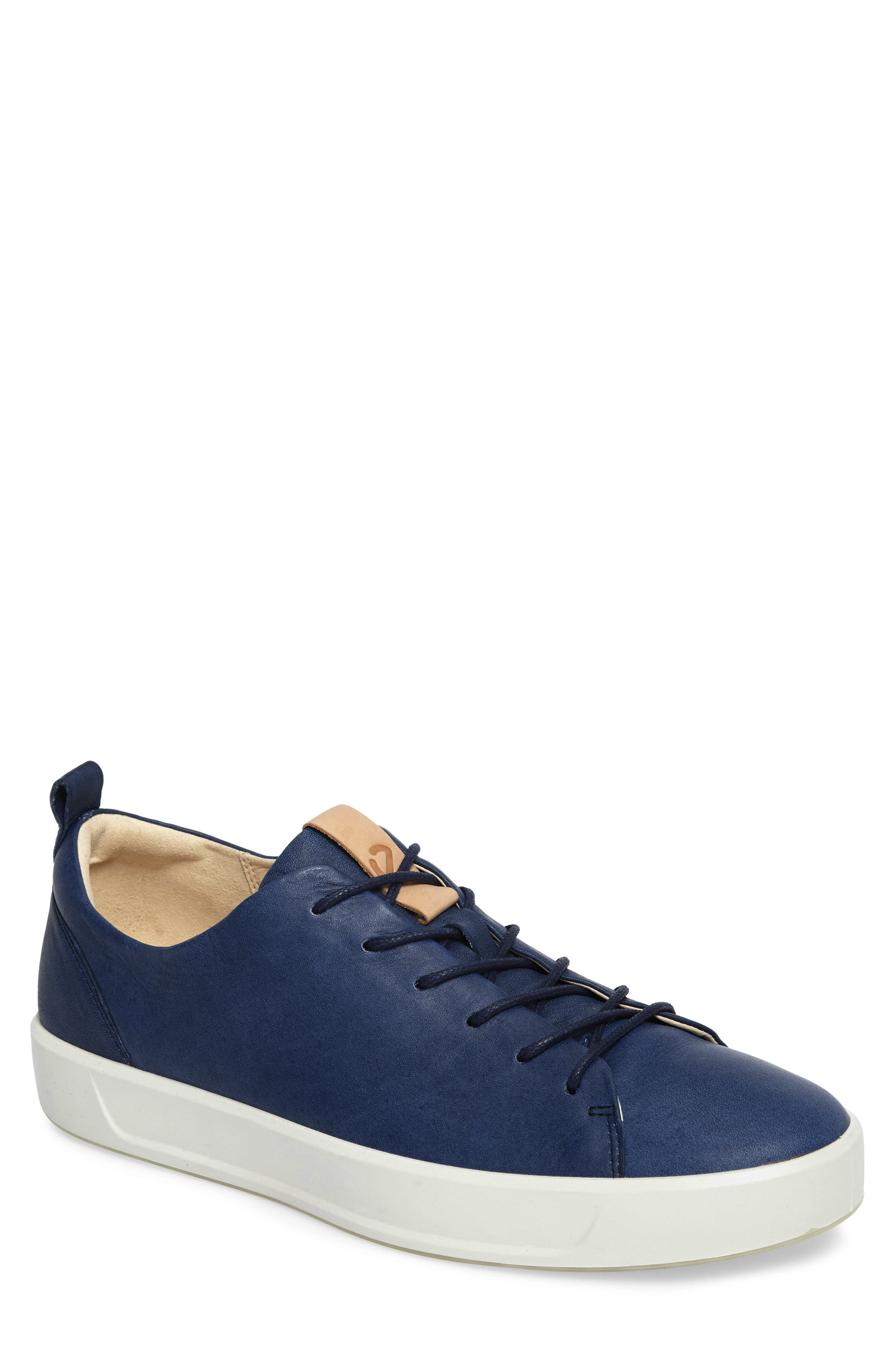 Soft 8 Sneaker,                             Main thumbnail 1, color,                             Indigo 7 Leather