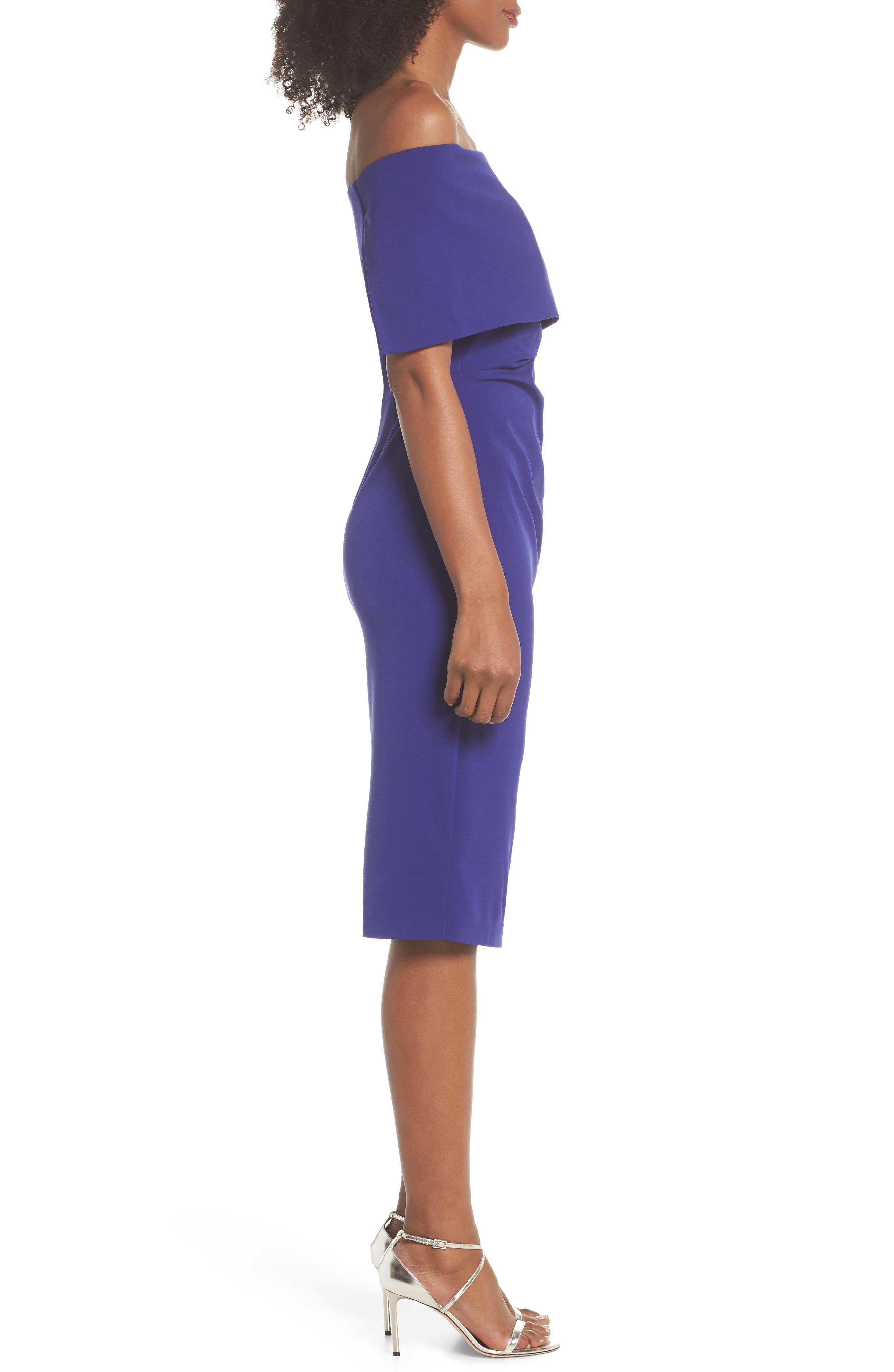 Alternate Image 3  - Vince Camuto Popover Midi Dress