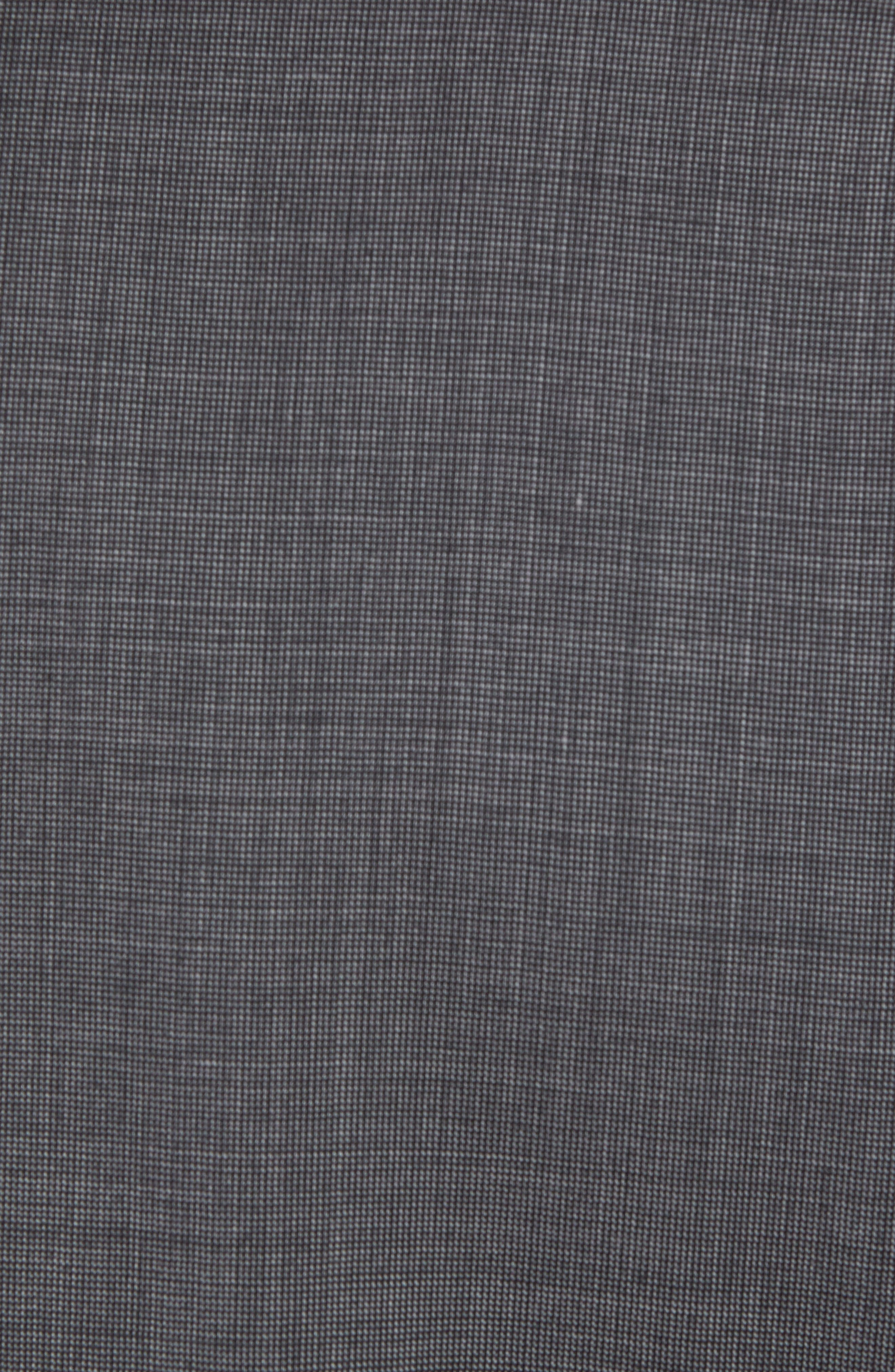 Jay Trim Fit Solid Wool Suit,                             Alternate thumbnail 7, color,                             Grey