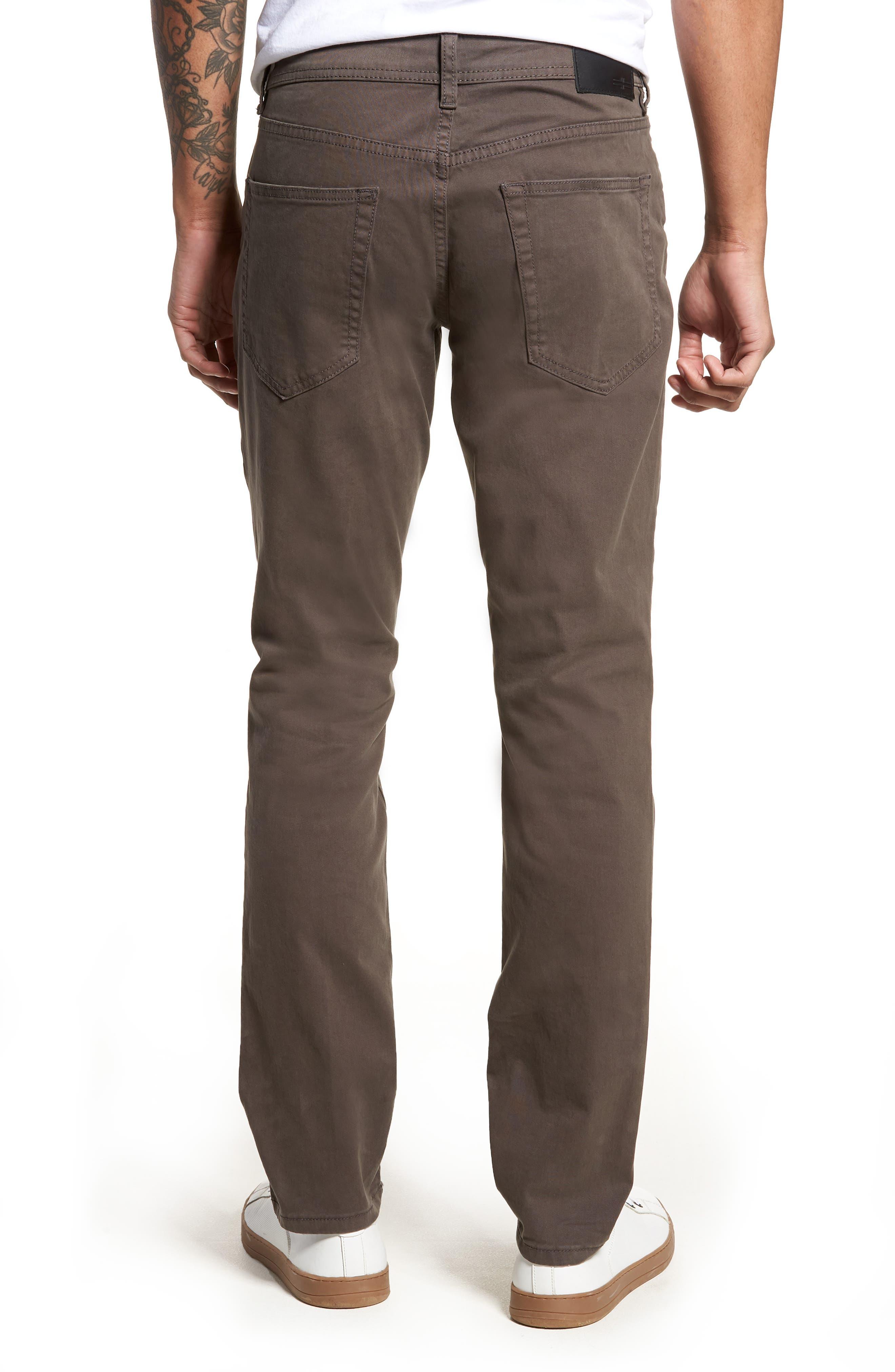 Jeans Co. Kingston Slim Straight Leg Jeans,                             Alternate thumbnail 2, color,                             Deep Earth