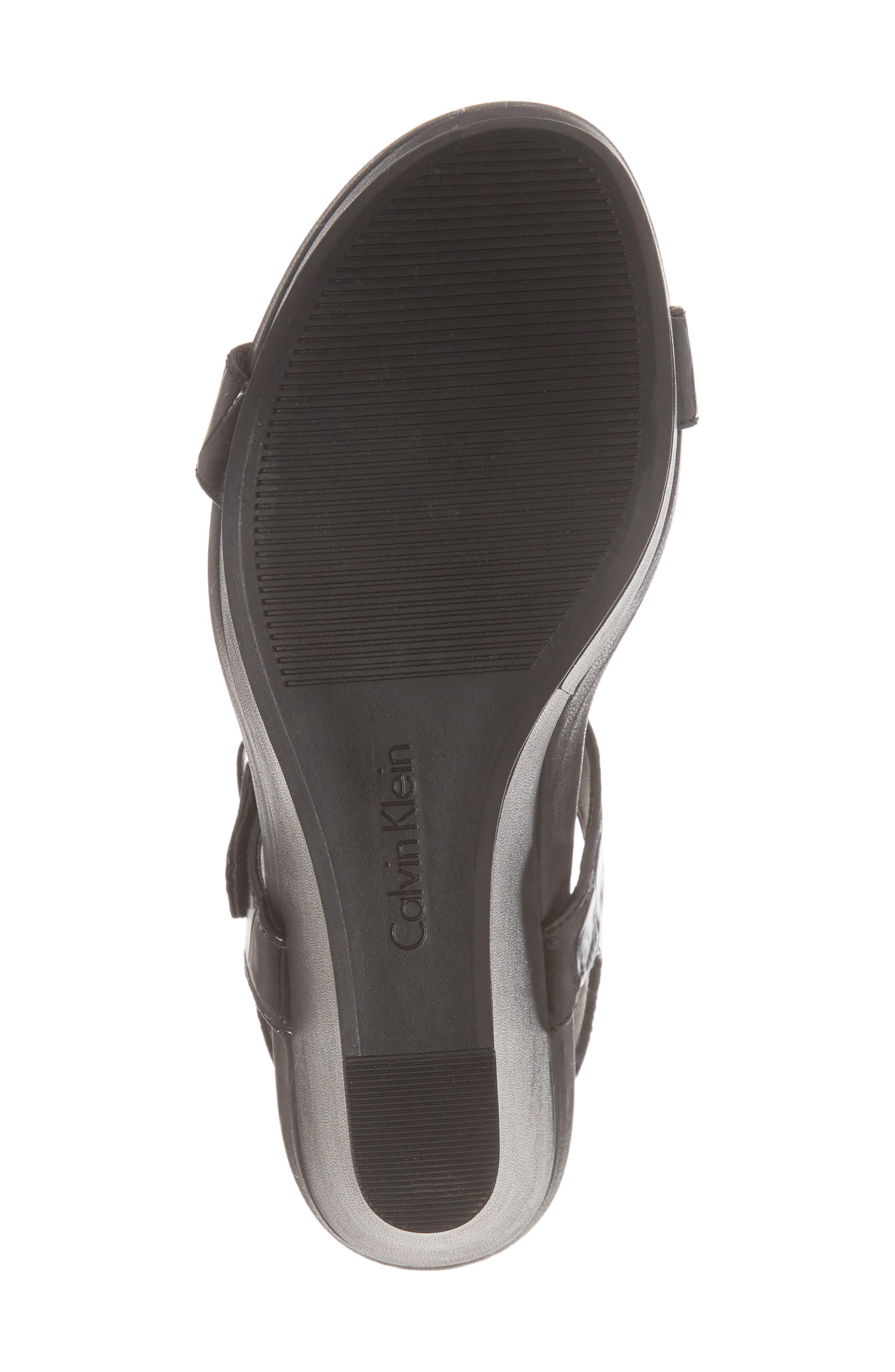 Alternate Image 6  - Calvin Klein Jacie Wedge Sandal (Women)