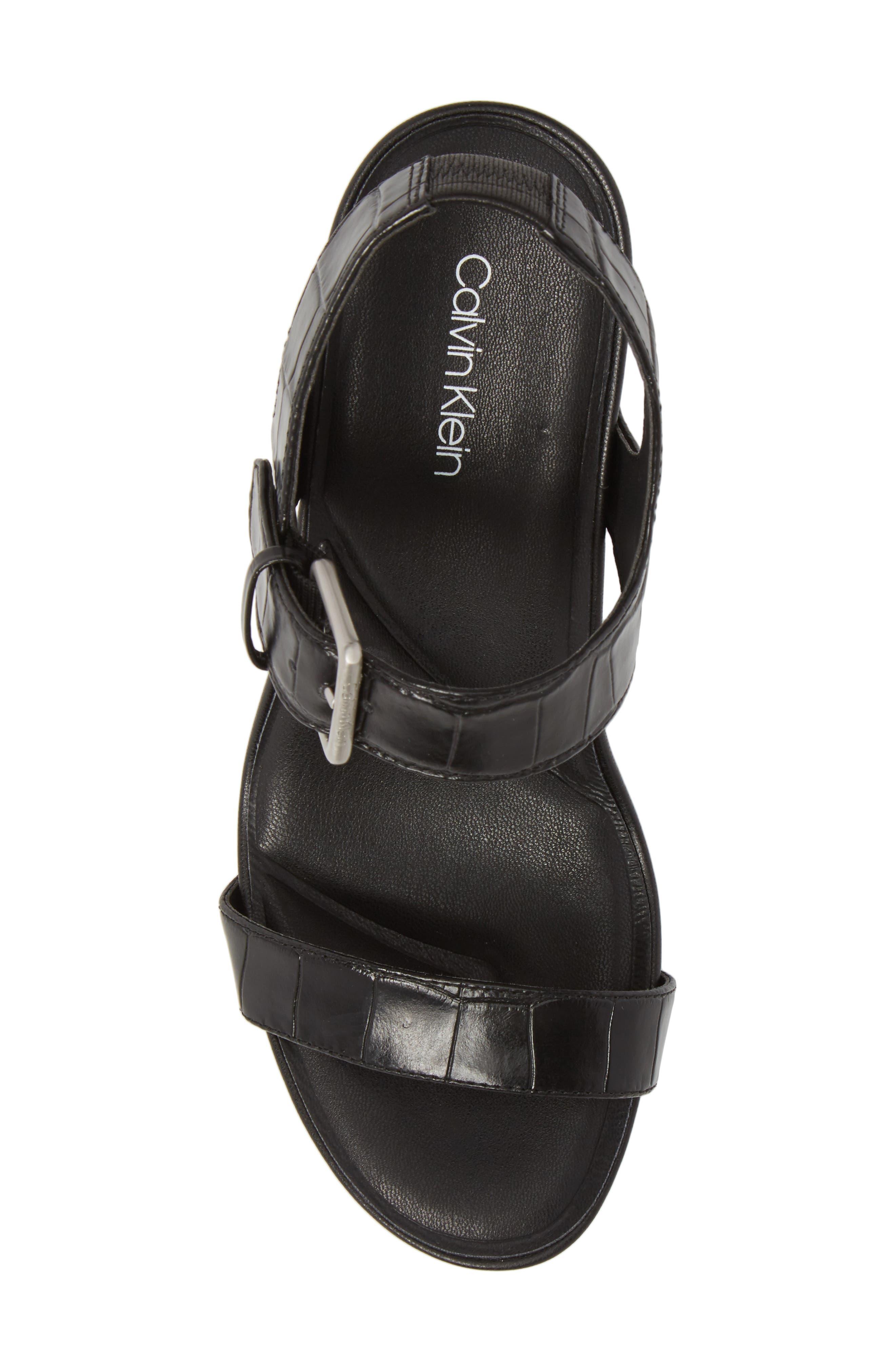 Alternate Image 5  - Calvin Klein Jacie Wedge Sandal (Women)