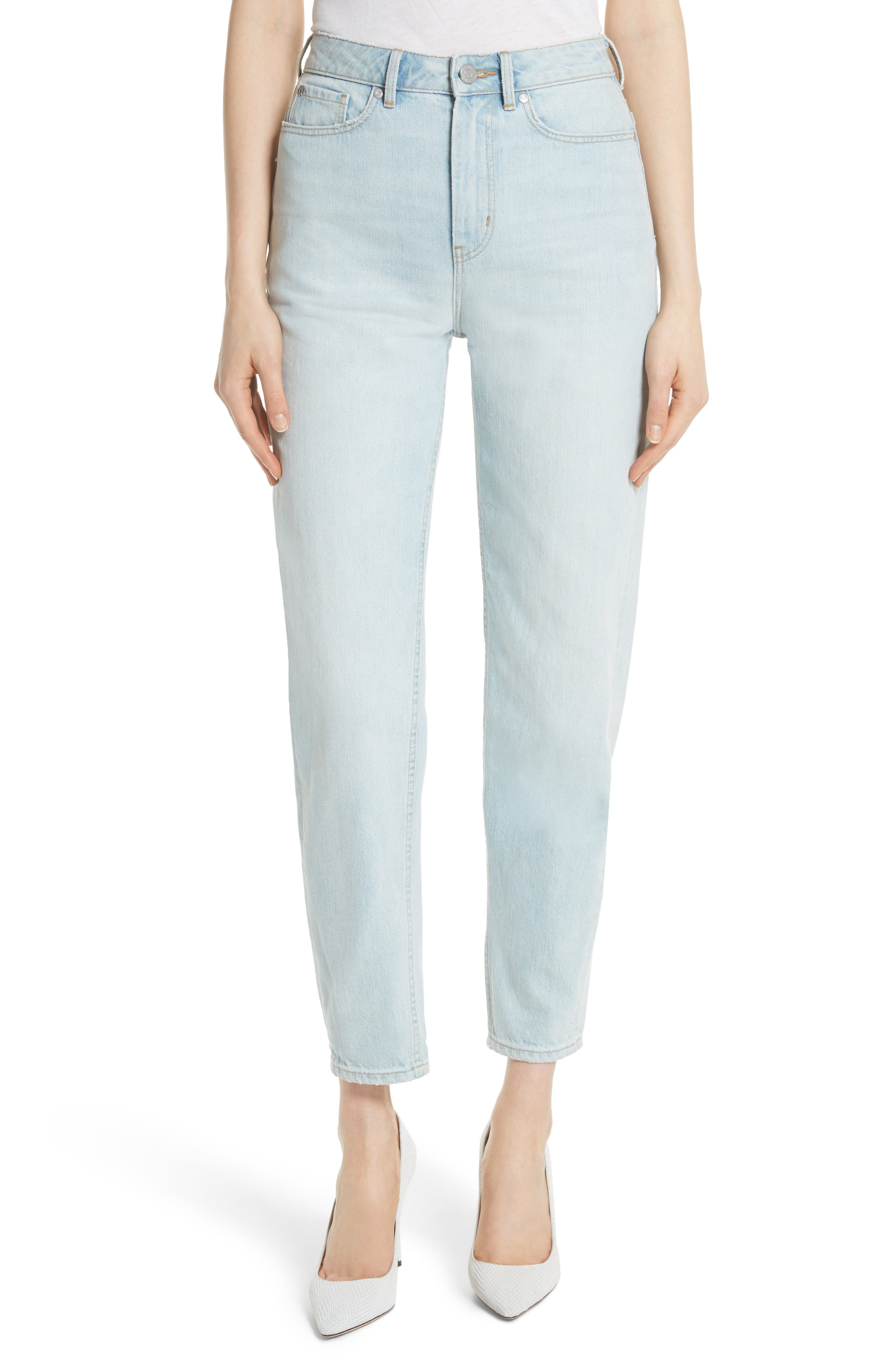 Tapered Jeans,                         Main,                         color, Pale Blue Wash
