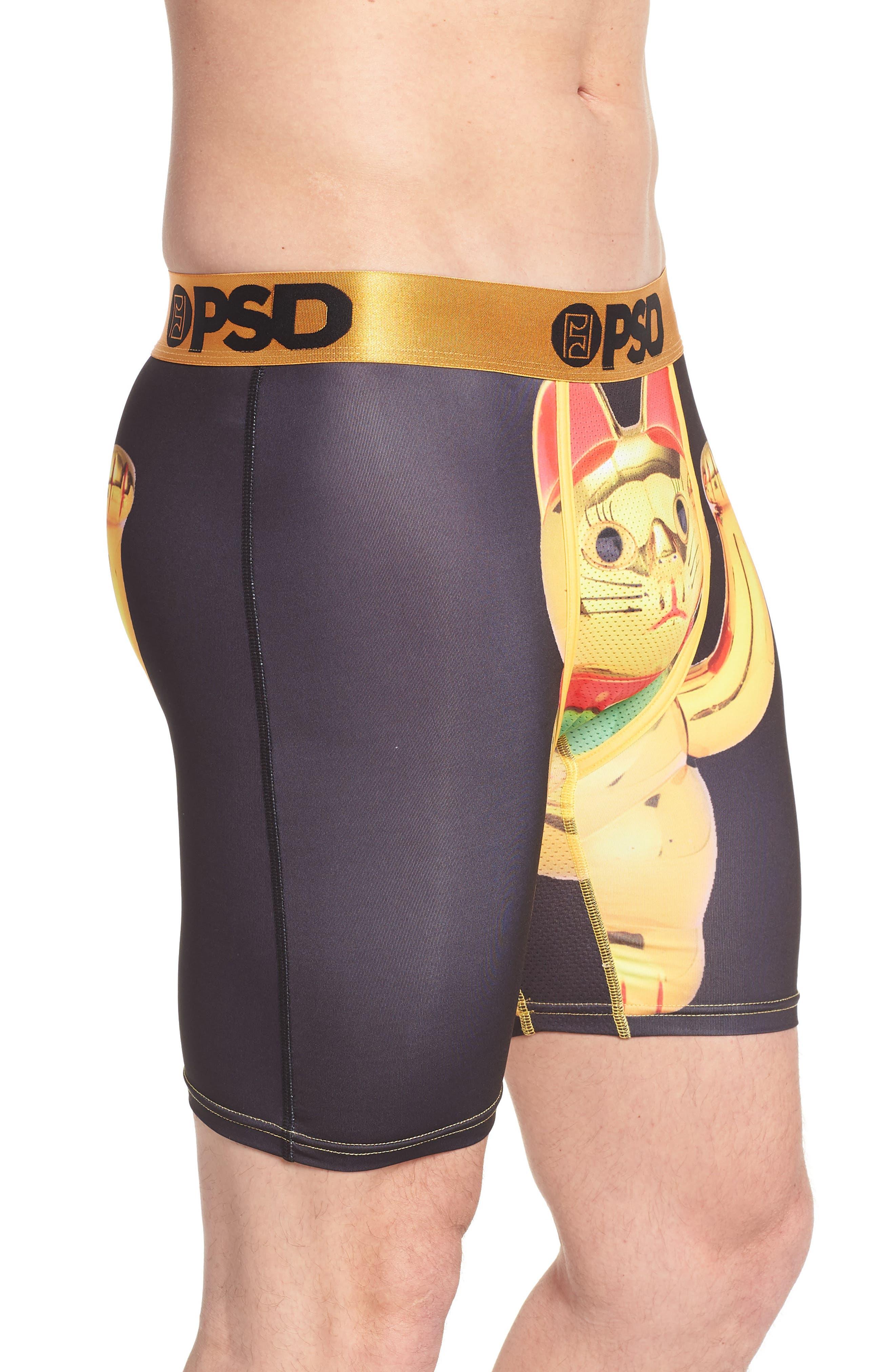 Alternate Image 3  - PSD Golden Kitty Boxer Briefs