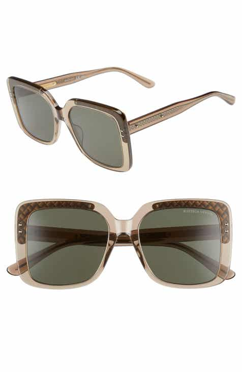 33e7842892 Bottega Veneta 54mm Square Lens Sunglasses