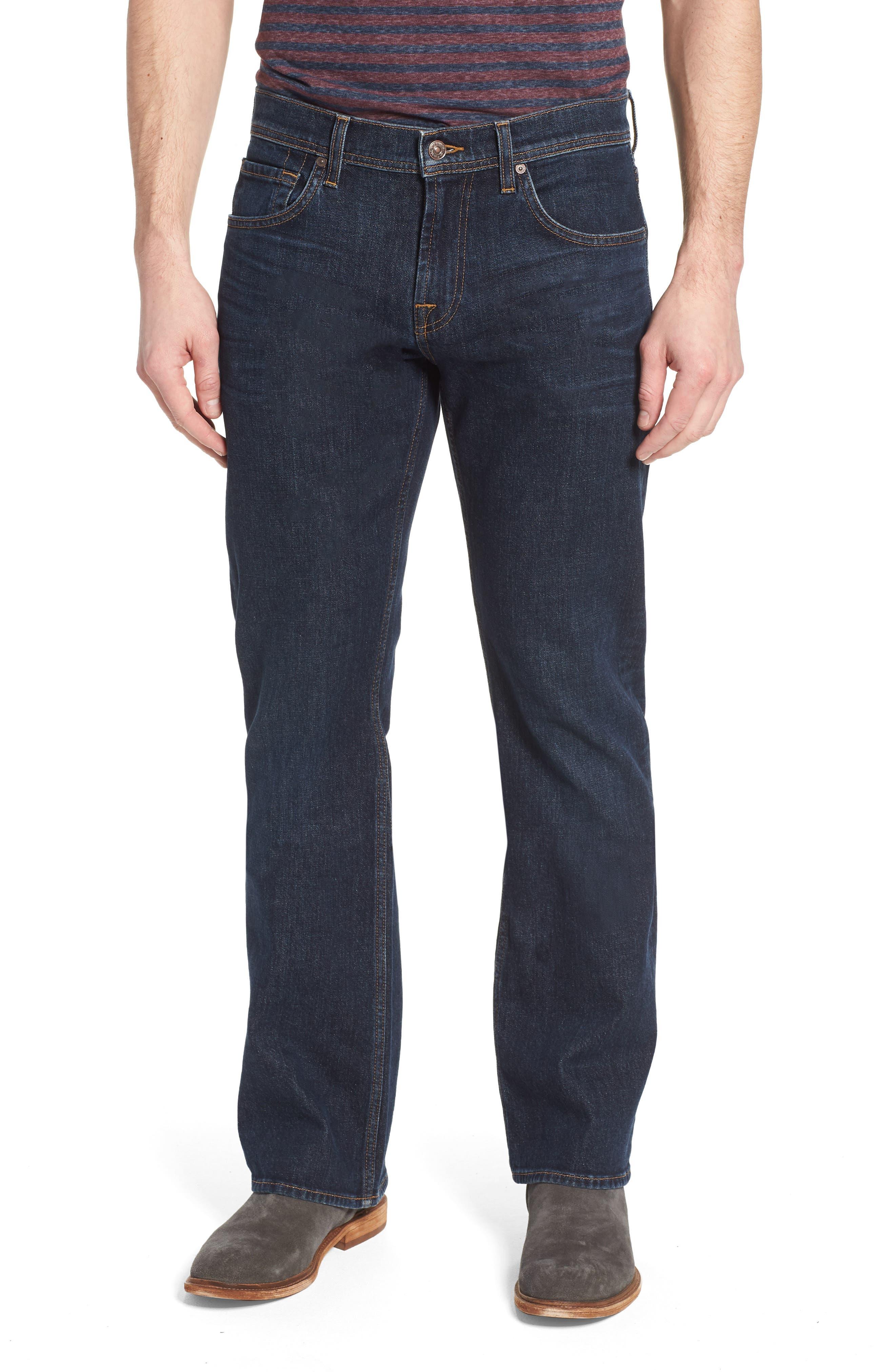 Brett Bootcut Jeans,                         Main,                         color, Forfeit
