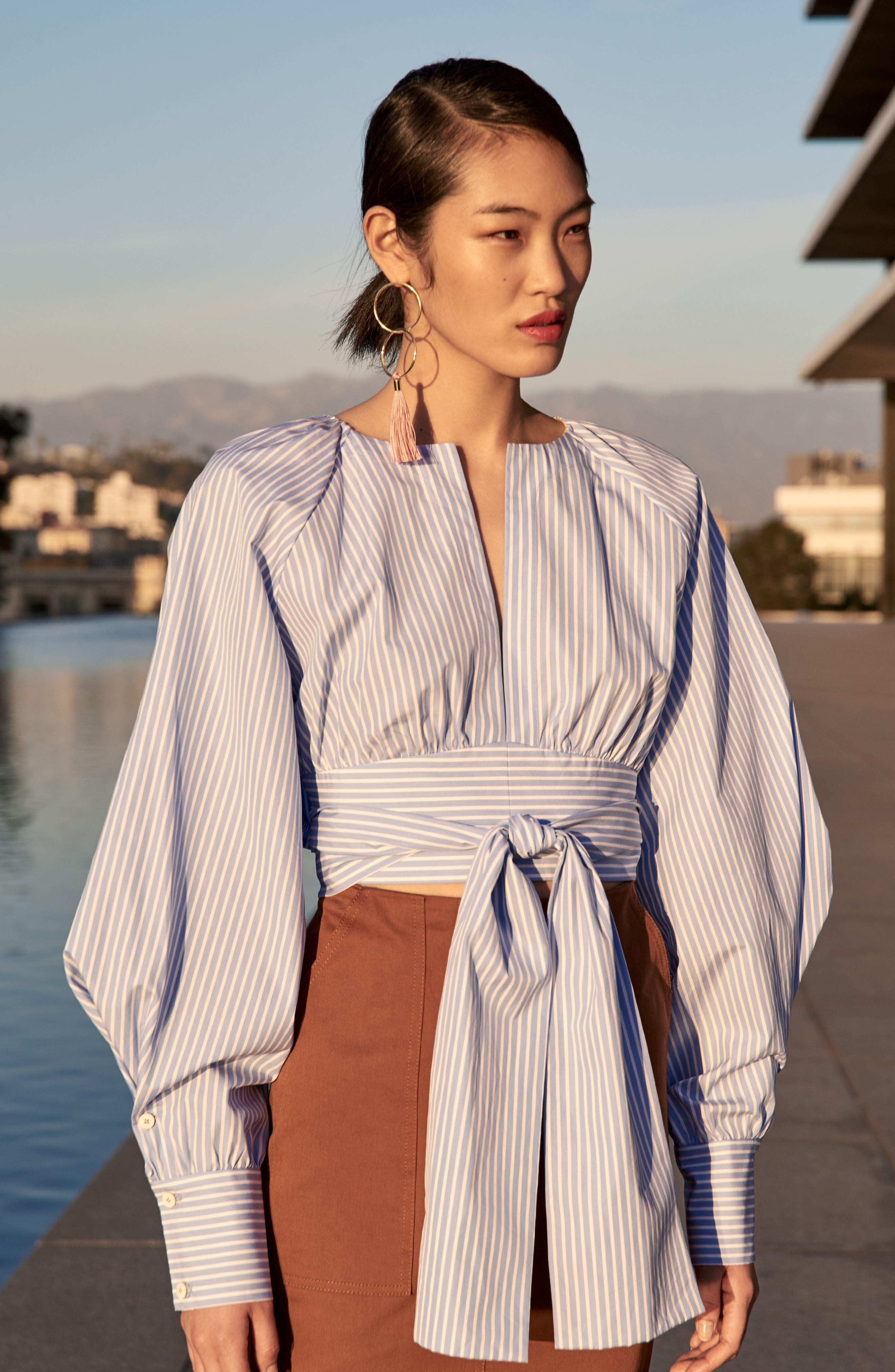 Alternate Image 3  - Diane von Furstenberg Midi Twill Pencil Skirt
