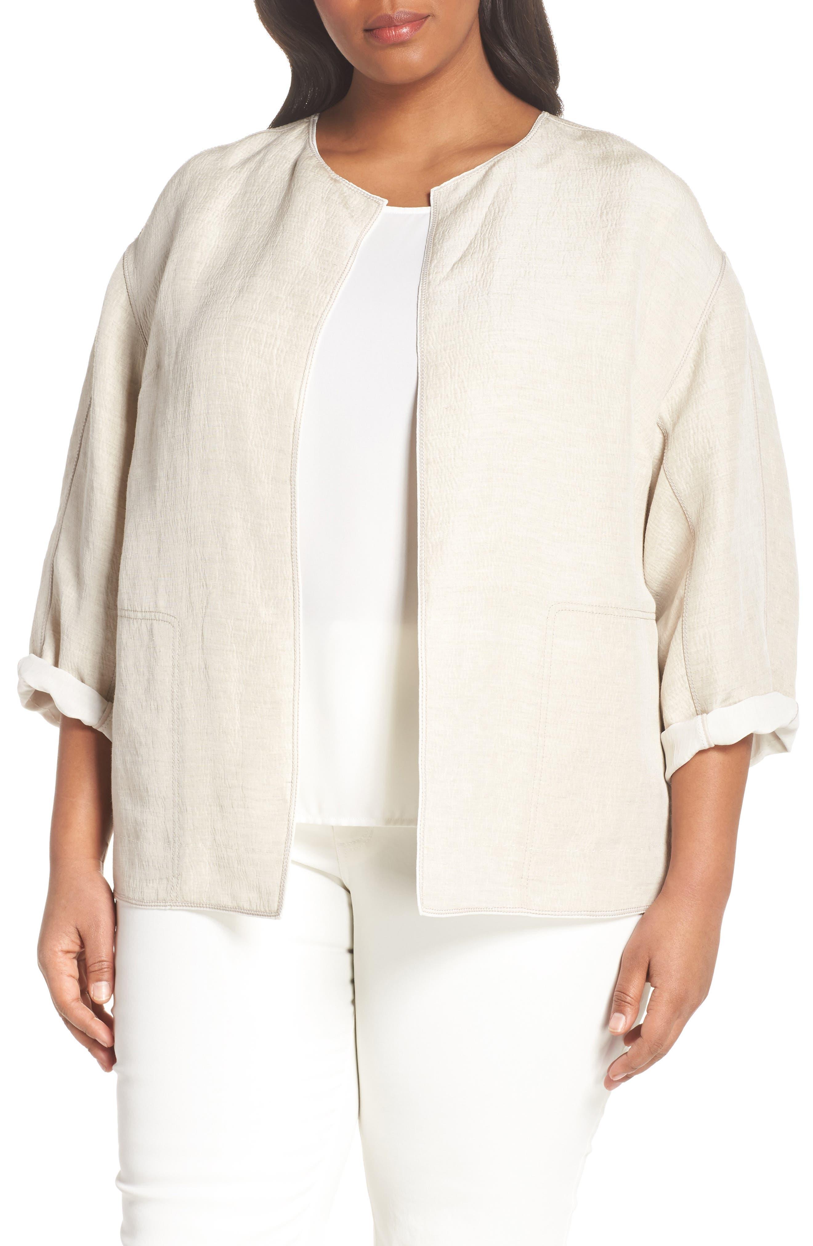 Lafayette 148 New York Milo Jacket (Plus Size)