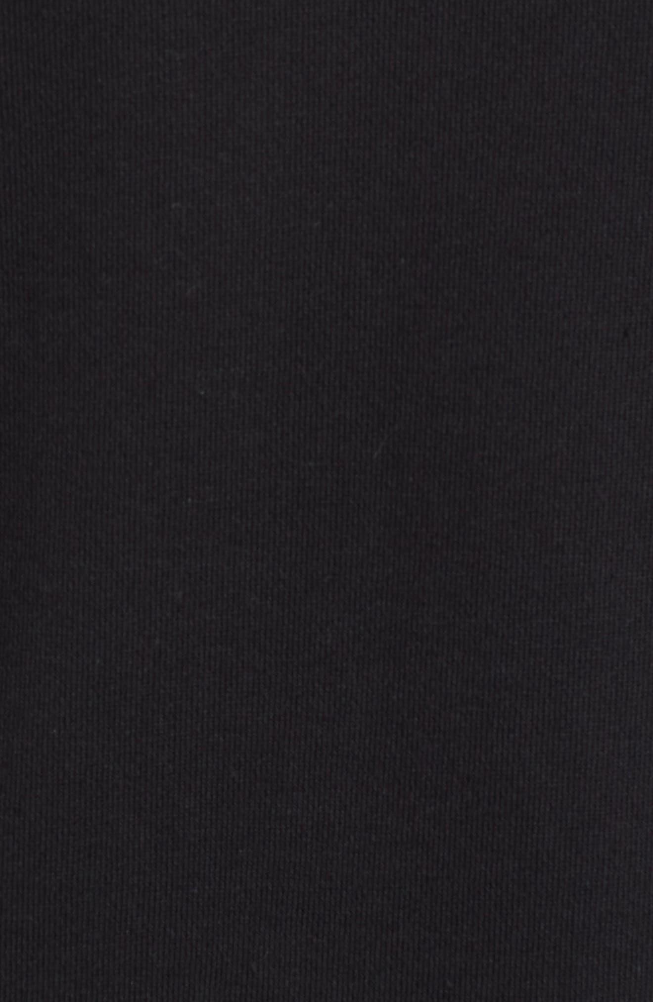 NSW Modern Track Jacket,                             Alternate thumbnail 5, color,                             Black/ Black