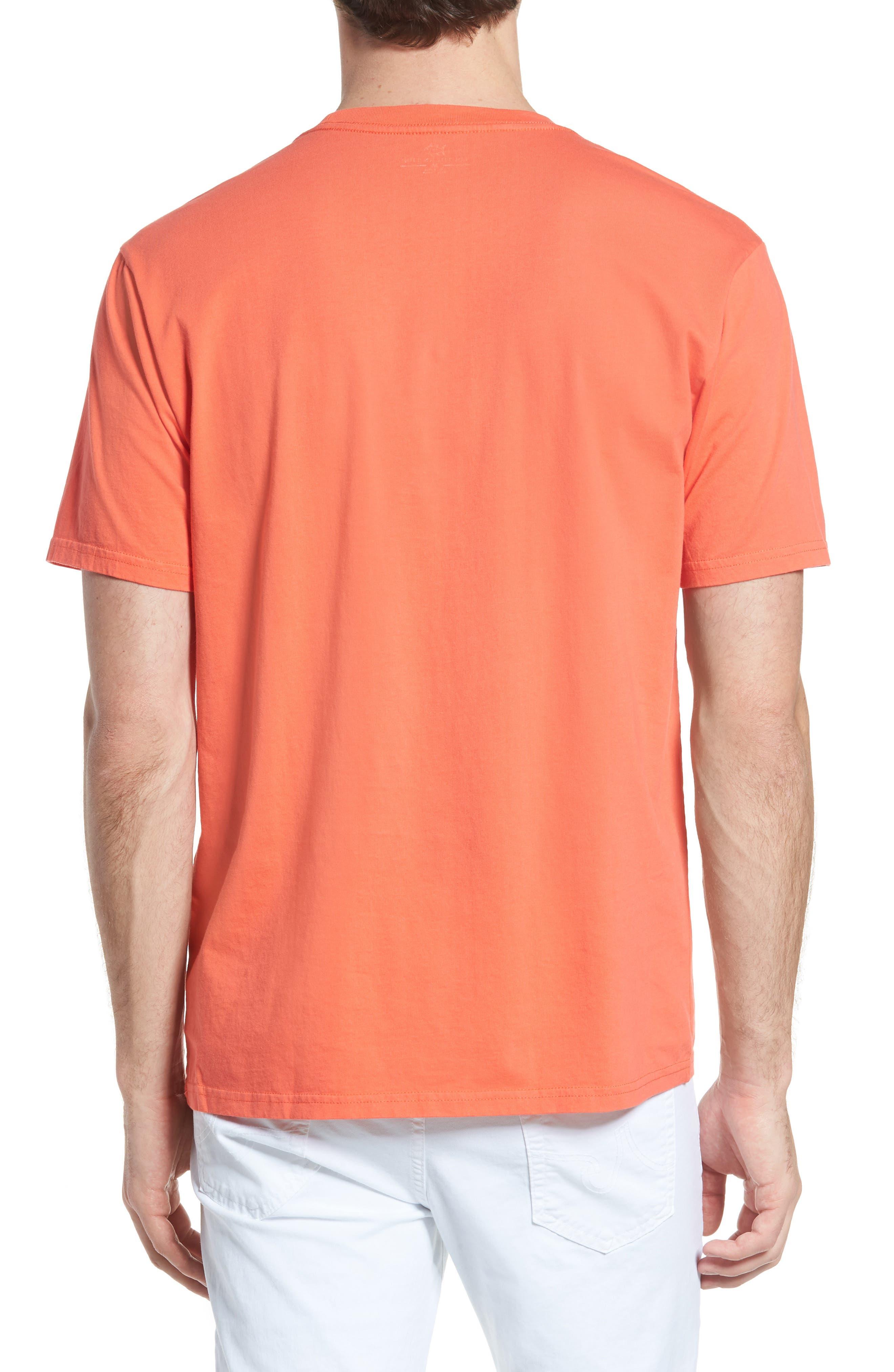 Skipjack Logo Regular Fit T-Shirt,                             Alternate thumbnail 2, color,                             Hot Coral