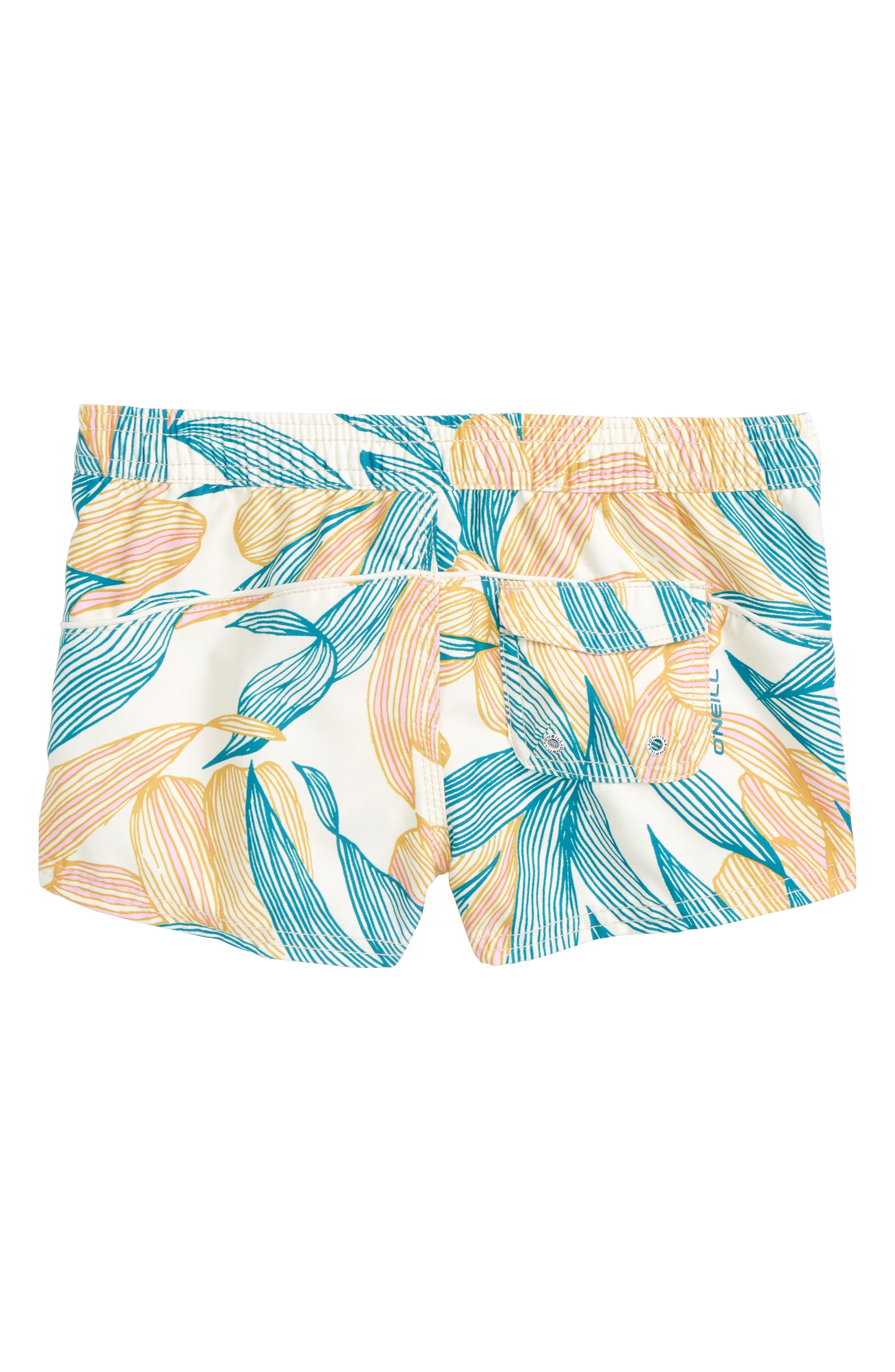 Breeze Board Shorts,                             Alternate thumbnail 2, color,                             Island Turquoise