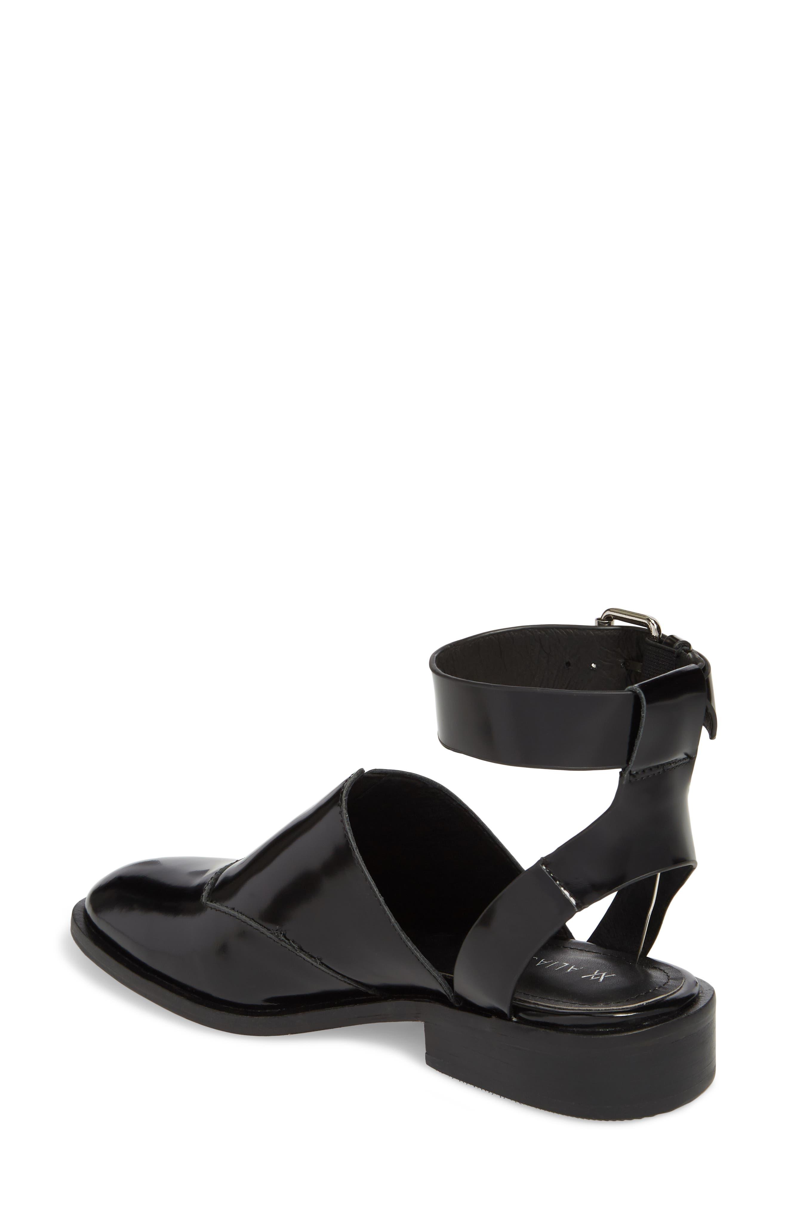 Nakita Sandal,                             Alternate thumbnail 2, color,                             Black Box Leather