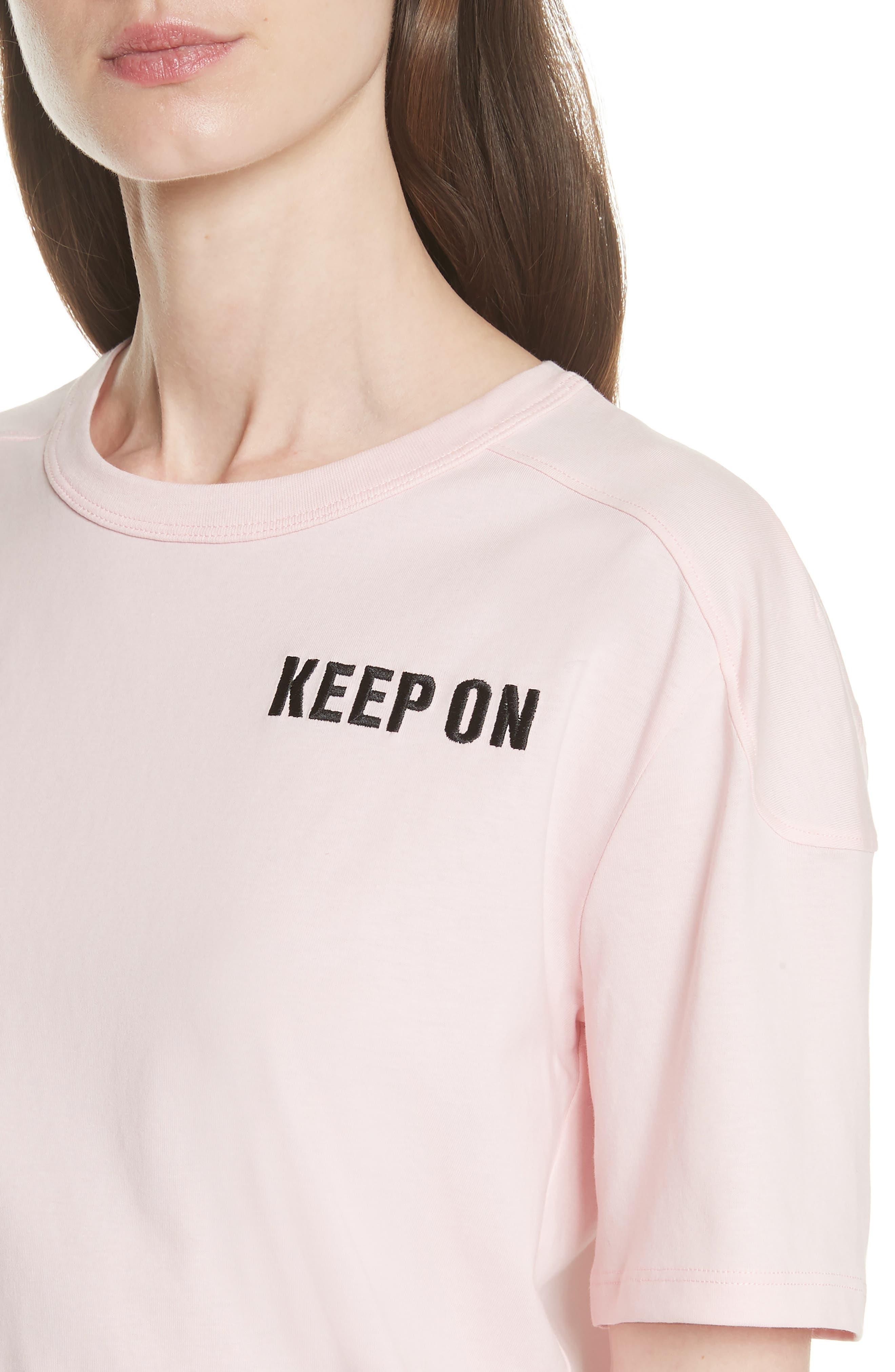 Keep on Dancing Tee,                             Alternate thumbnail 4, color,                             Pink
