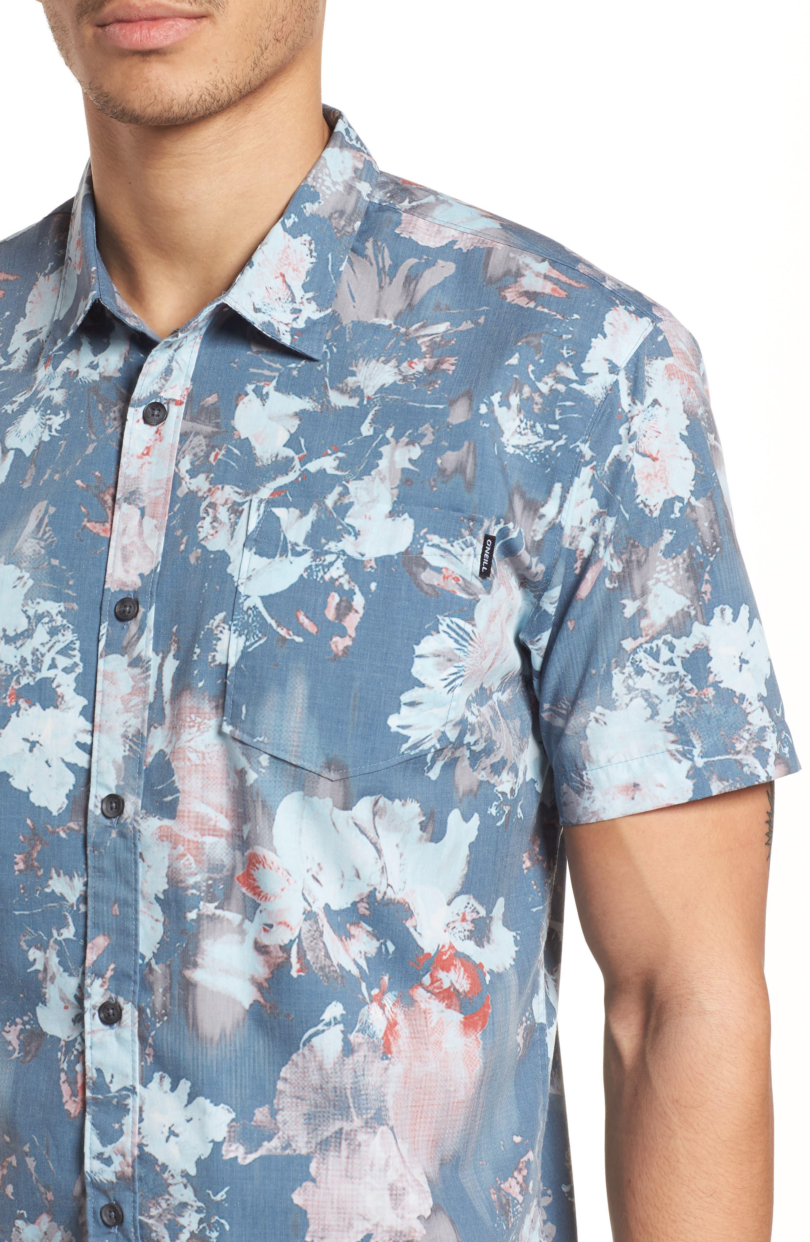 Perennial Woven Shirt,                             Alternate thumbnail 2, color,                             Dust Blue