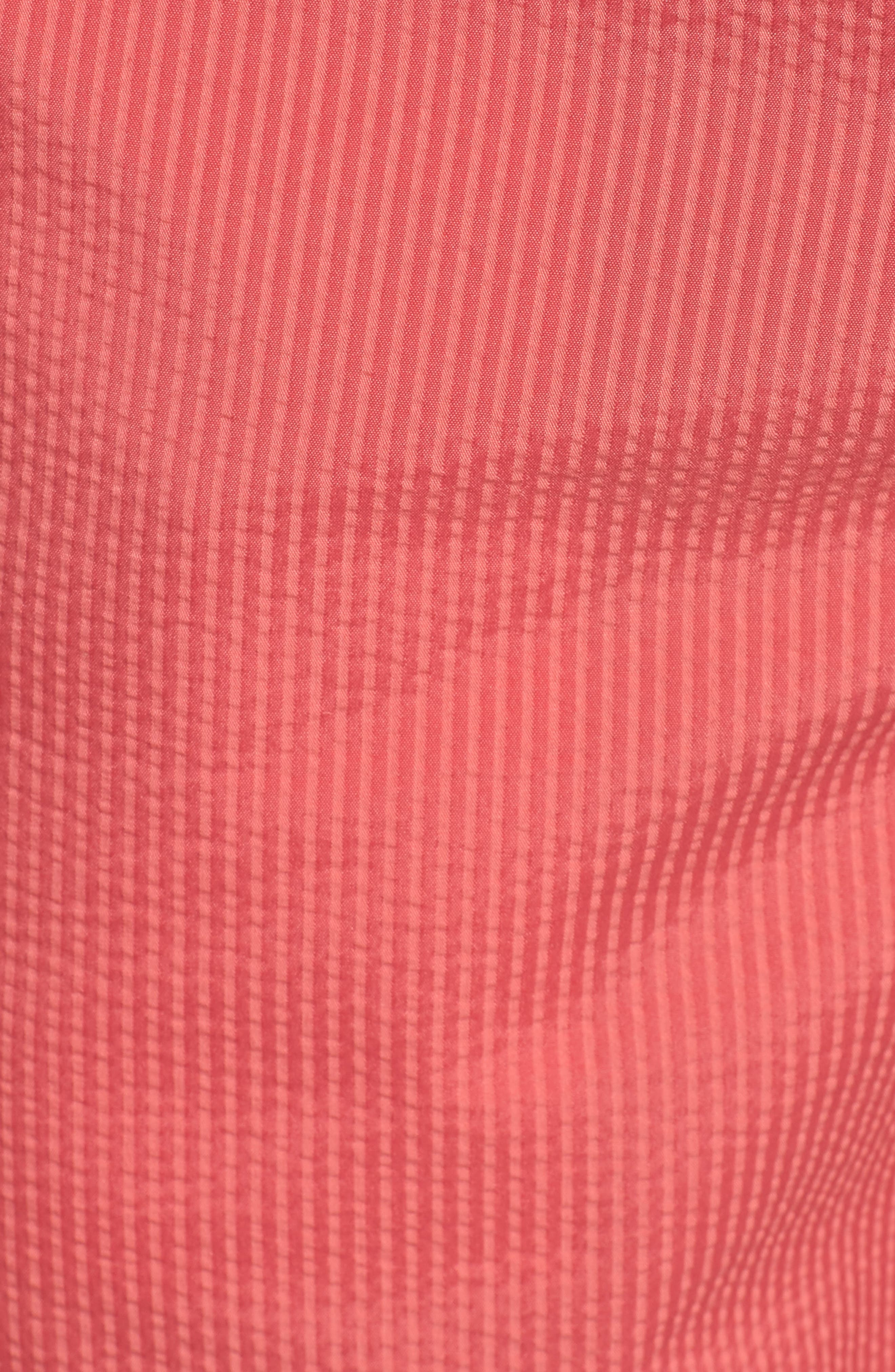Seersucker Shorts,                             Alternate thumbnail 5, color,                             Charleston Red