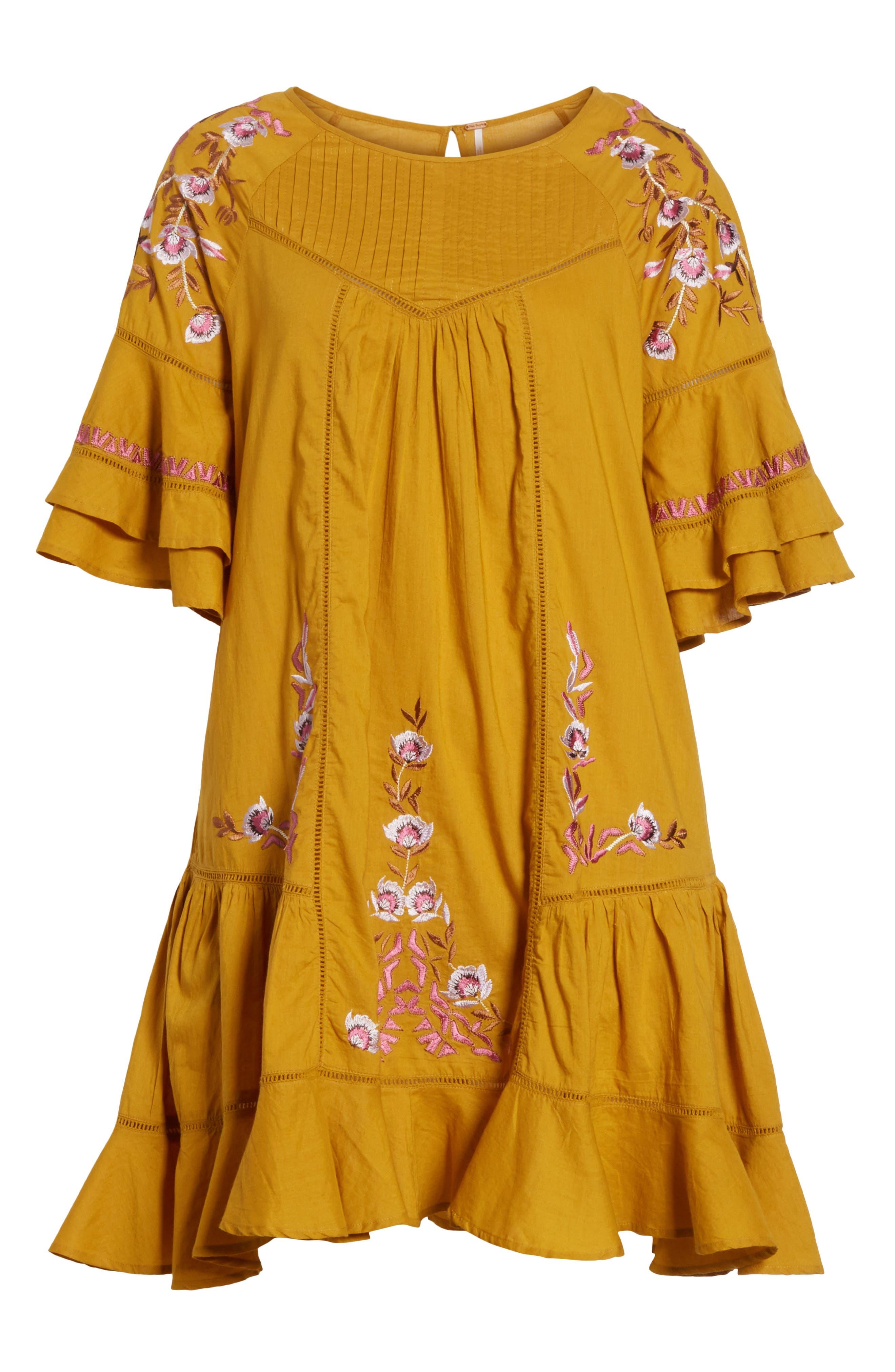 Alternate Image 6  - Free People Pavlo Babydoll Dress