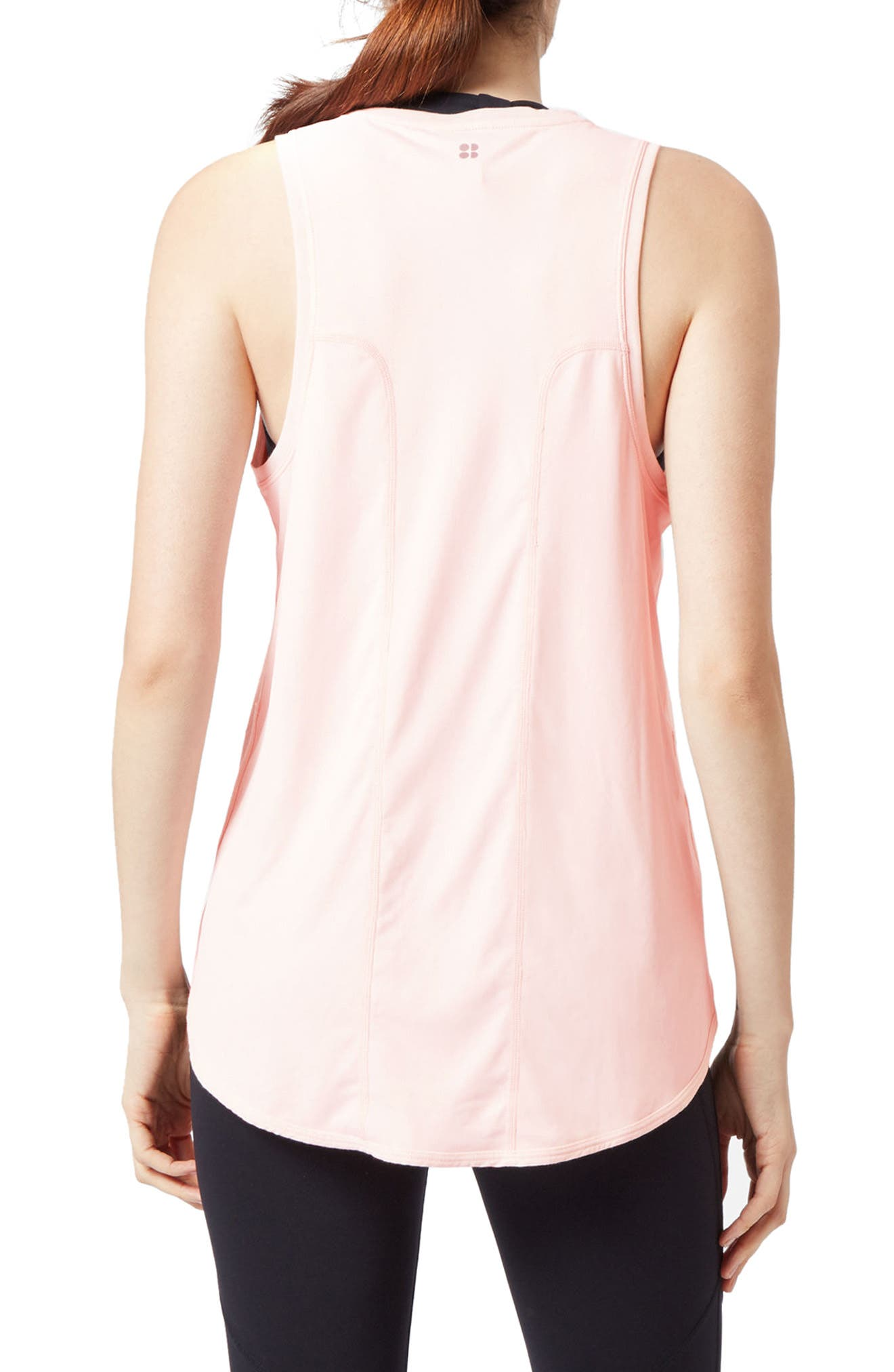 Pacesetter Run Tank,                             Alternate thumbnail 2, color,                             Liberated Pink