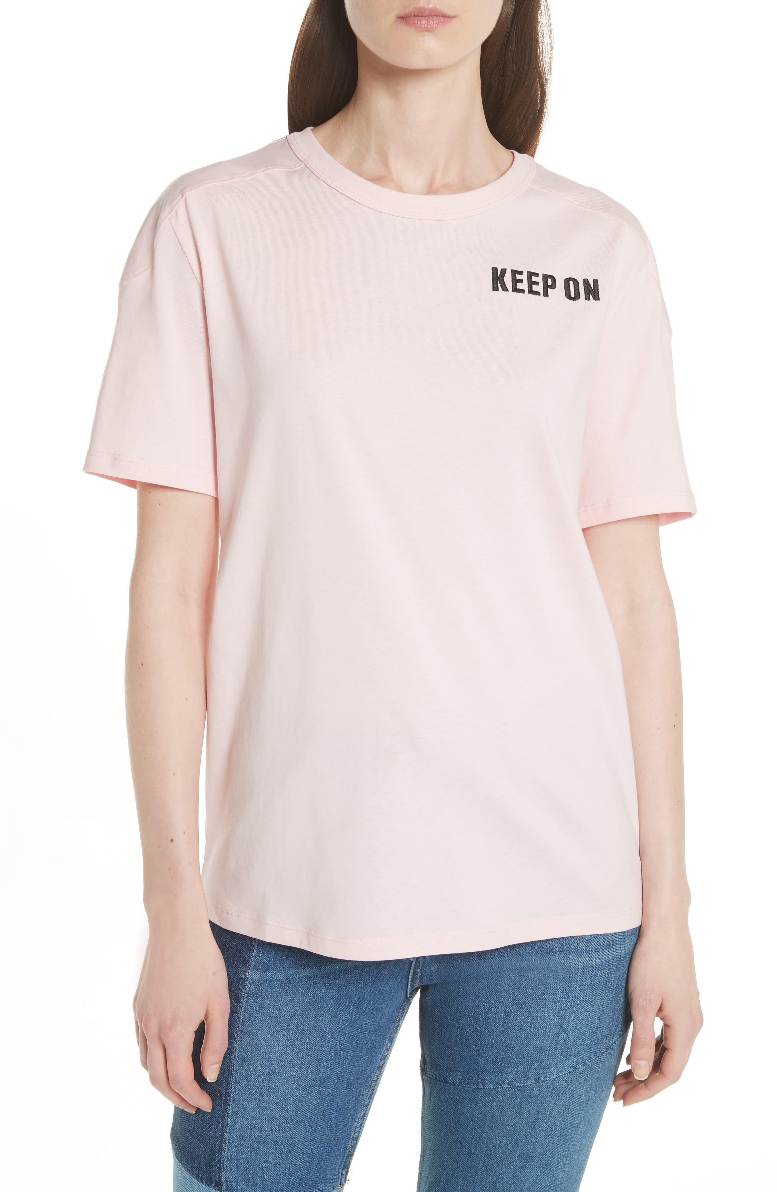 Keep on Dancing Tee,                             Main thumbnail 1, color,                             Pink