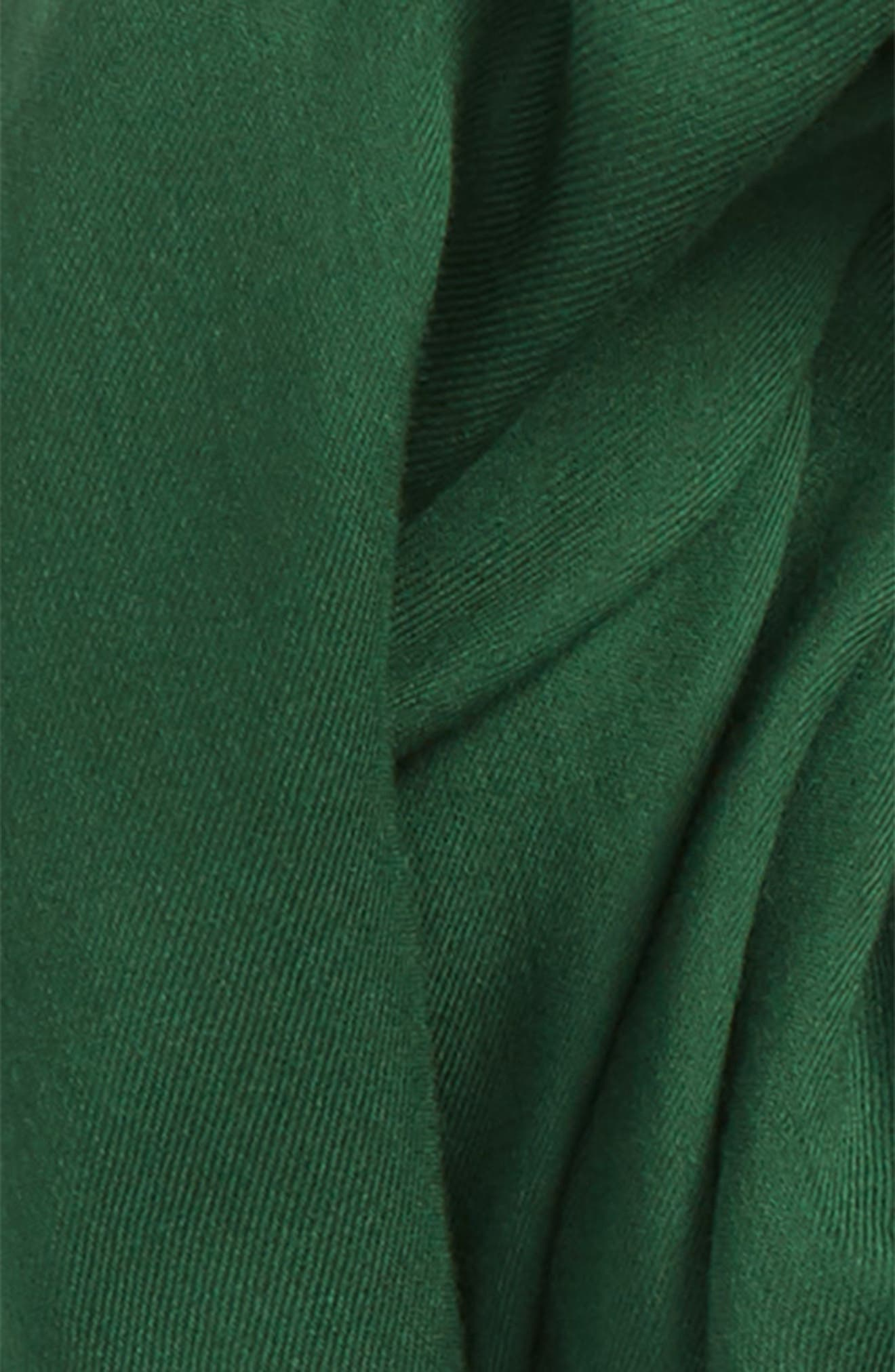 Solid Scarf,                             Alternate thumbnail 3, color,                             Green