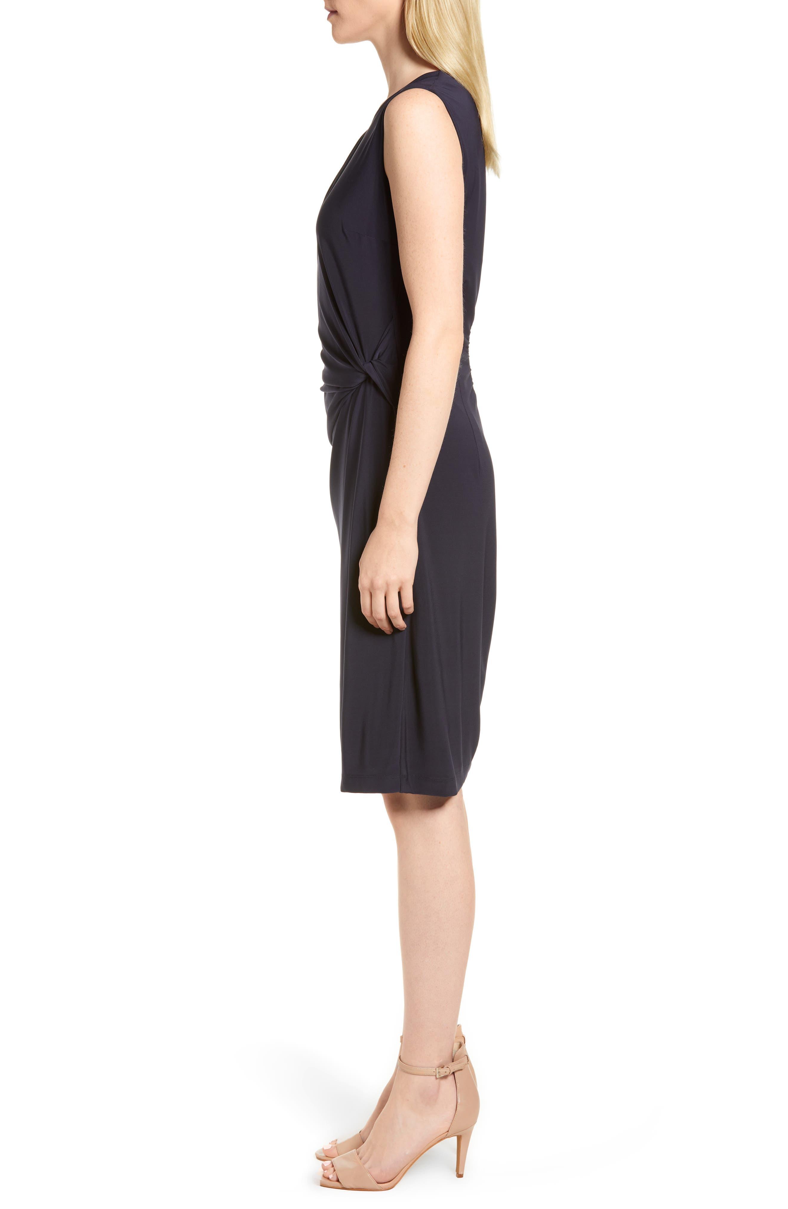 Alternate Image 3  - NIC+ZOE Twist Side Matte Jersey Dress