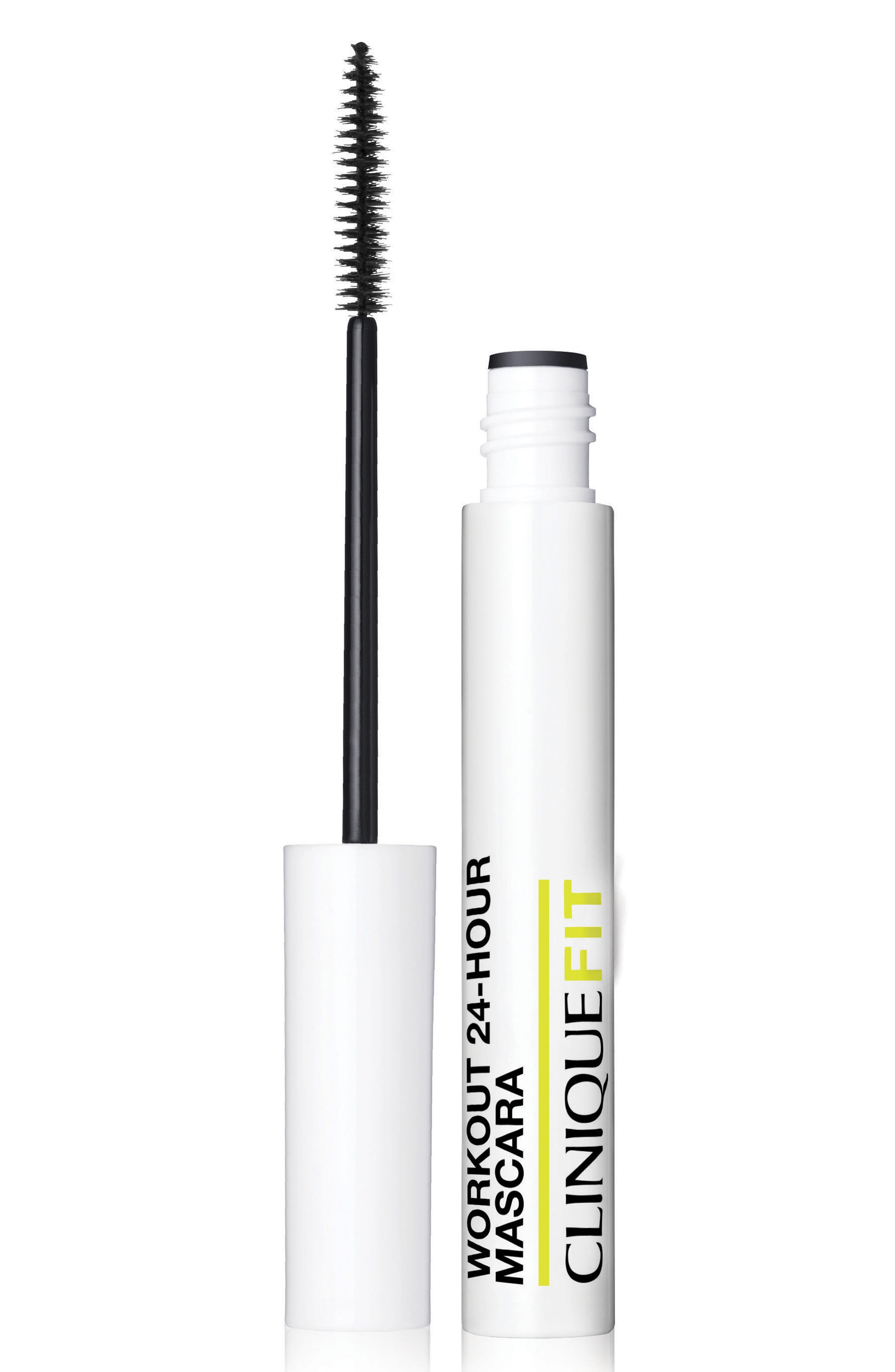 CliniqueFIT Workout 24-Hour Mascara,                             Main thumbnail 1, color,                             No Color