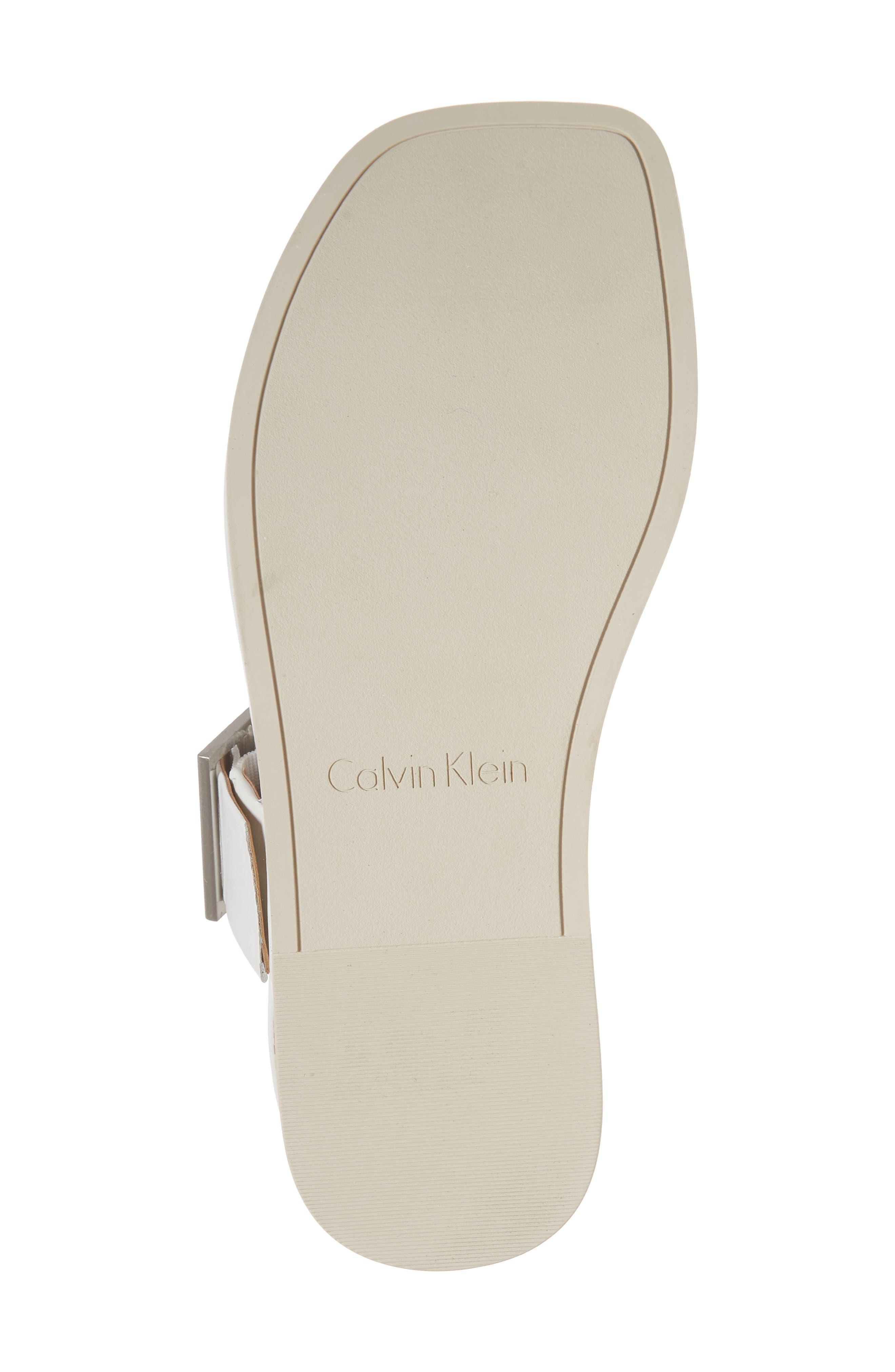 Rivita Sandal,                             Alternate thumbnail 6, color,                             Platinum White Leather