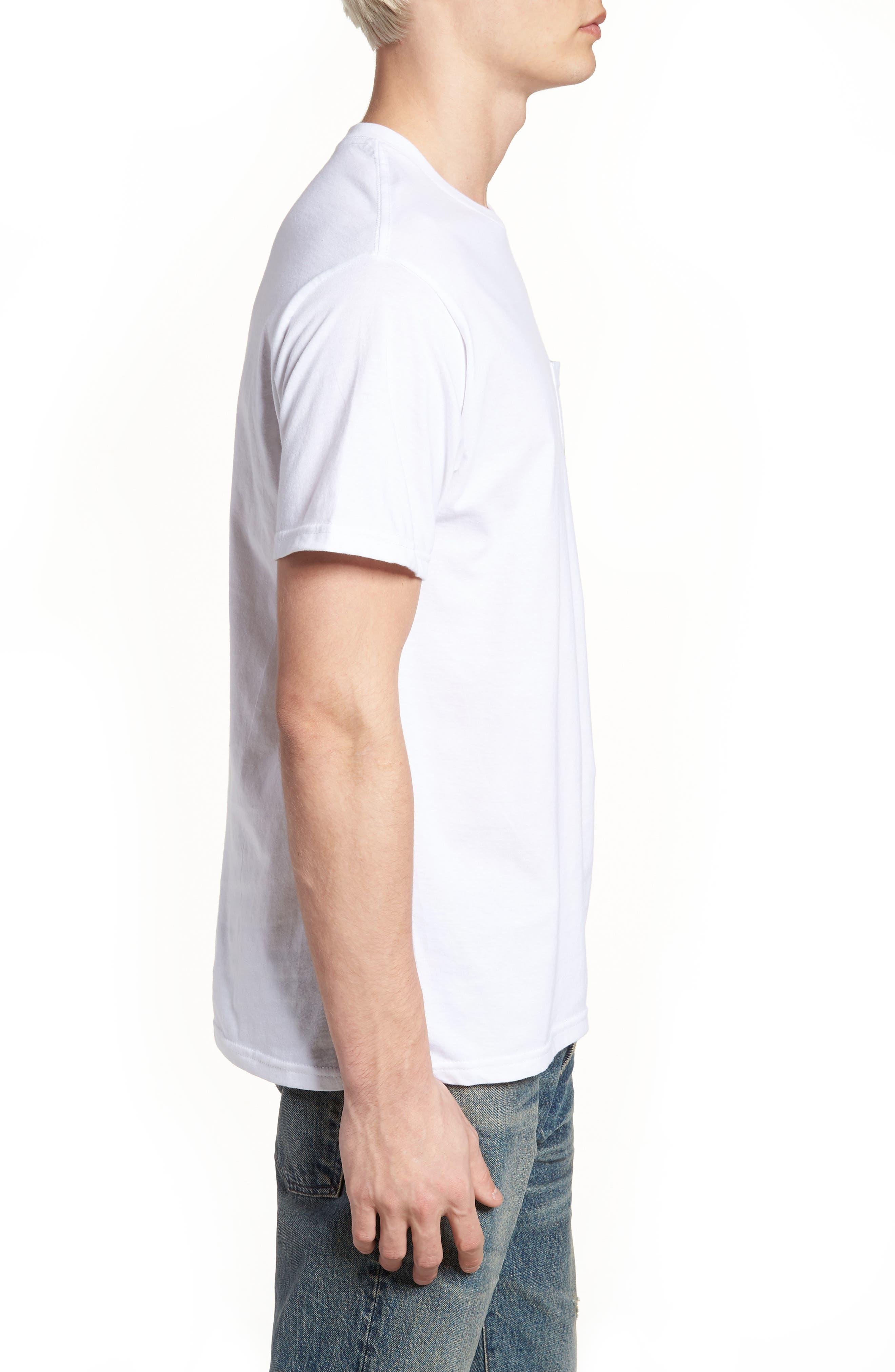 Shinanigans Graphic T-Shirt,                             Alternate thumbnail 3, color,                             White
