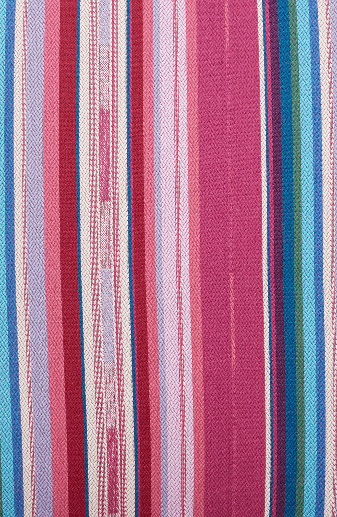 Serape Stripe Pillow,                             Alternate thumbnail 3, color,                             Multi