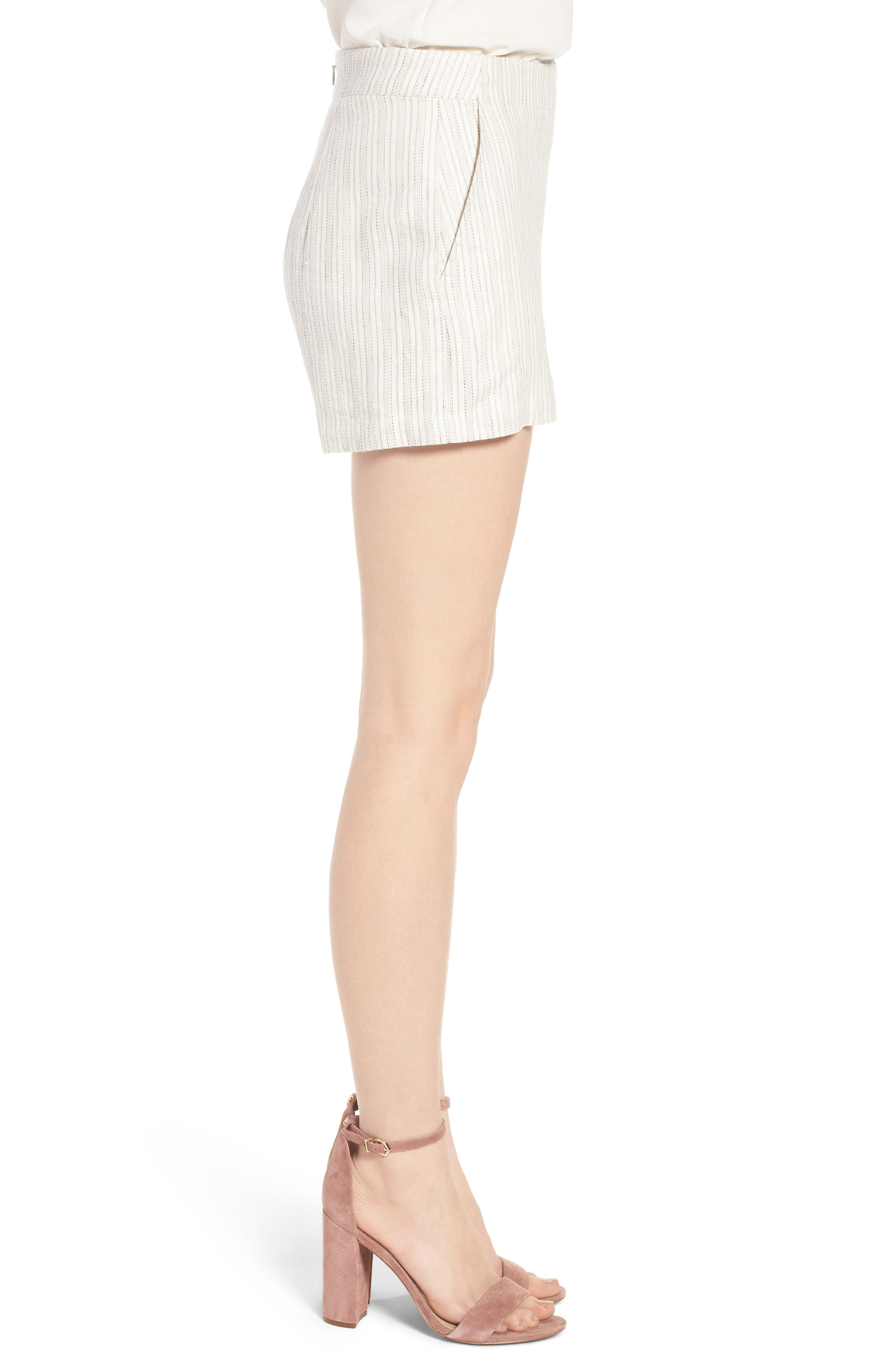 Alta Shorts,                             Alternate thumbnail 4, color,                             Ivory