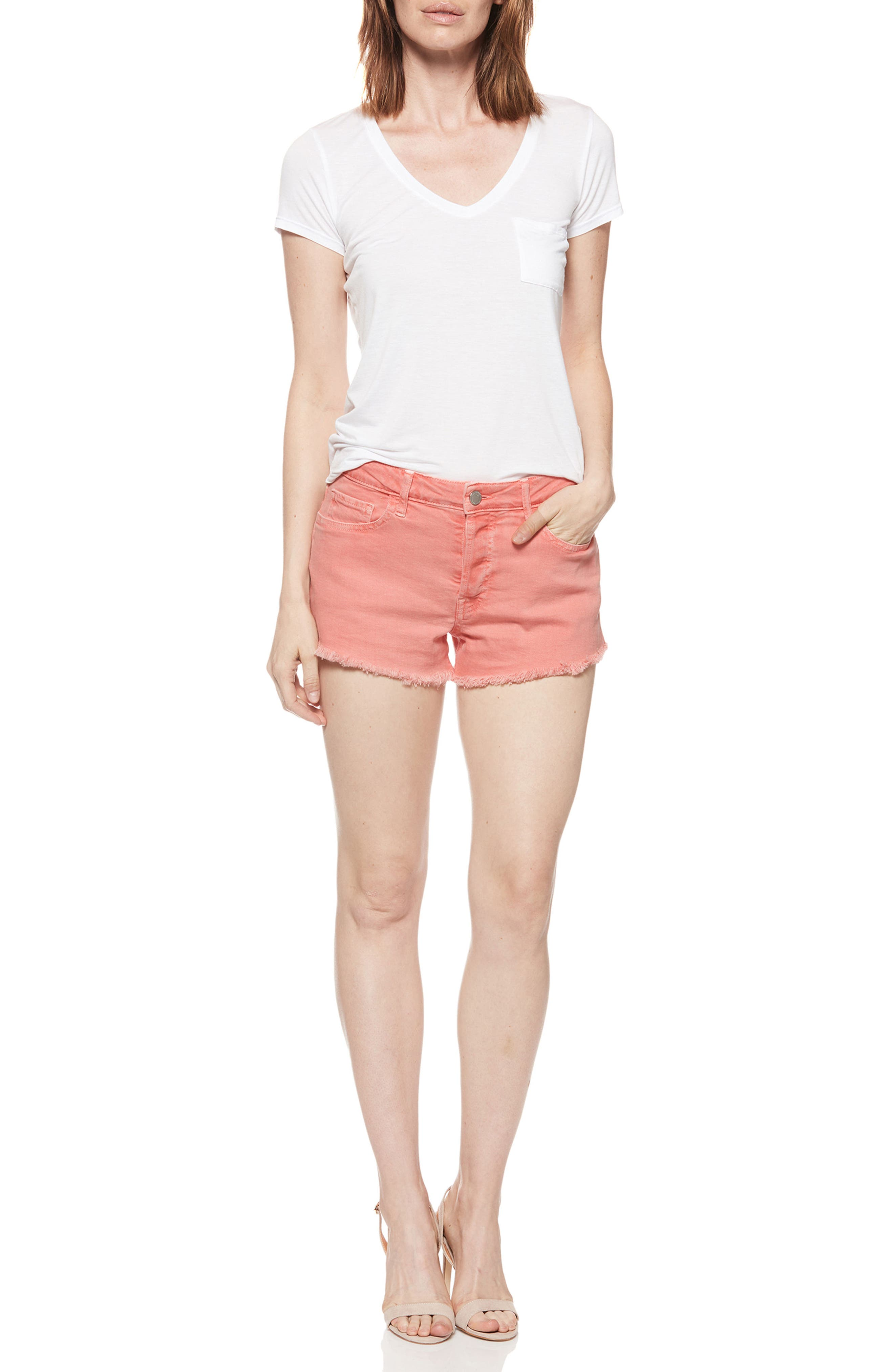 Emmit Relaxed Denim Shorts by Paige