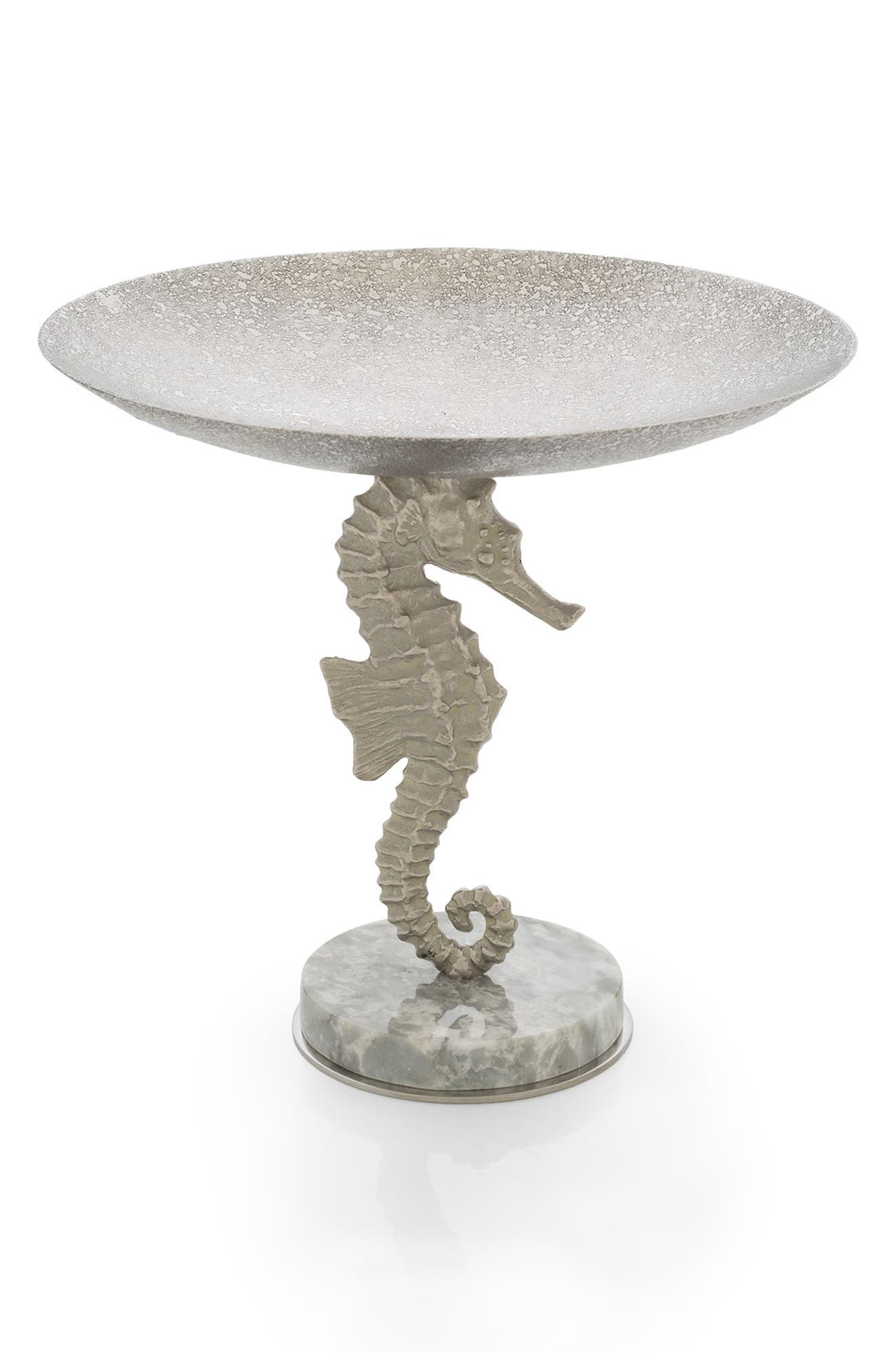 Ocean Reef Candy Dish,                             Main thumbnail 1, color,                             Silver
