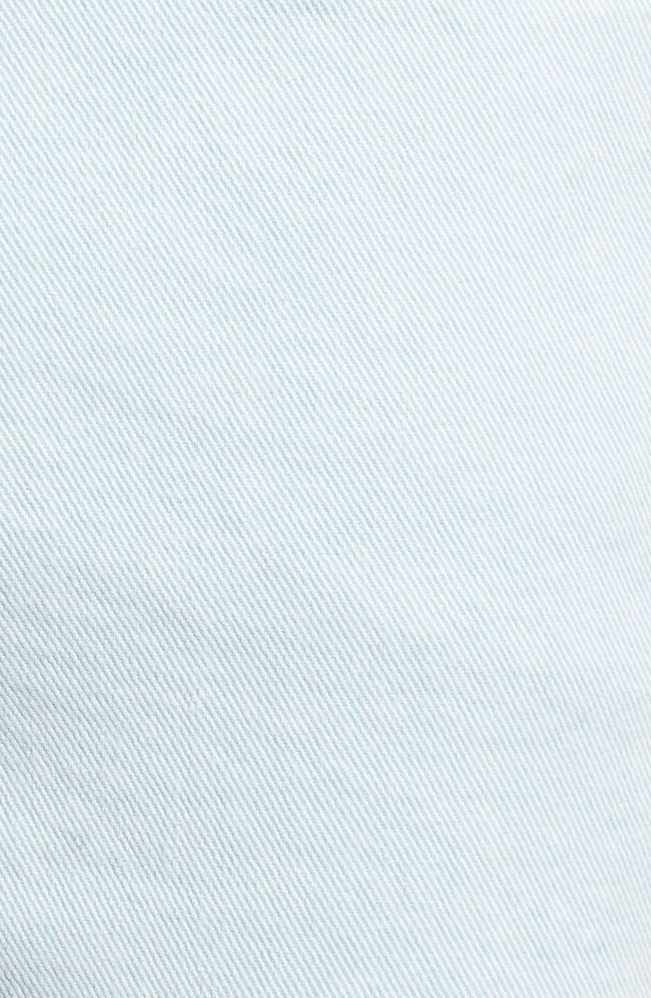 Fit 2 Slim Fit Jeans,                             Alternate thumbnail 5, color,                             Light Blue Pigment