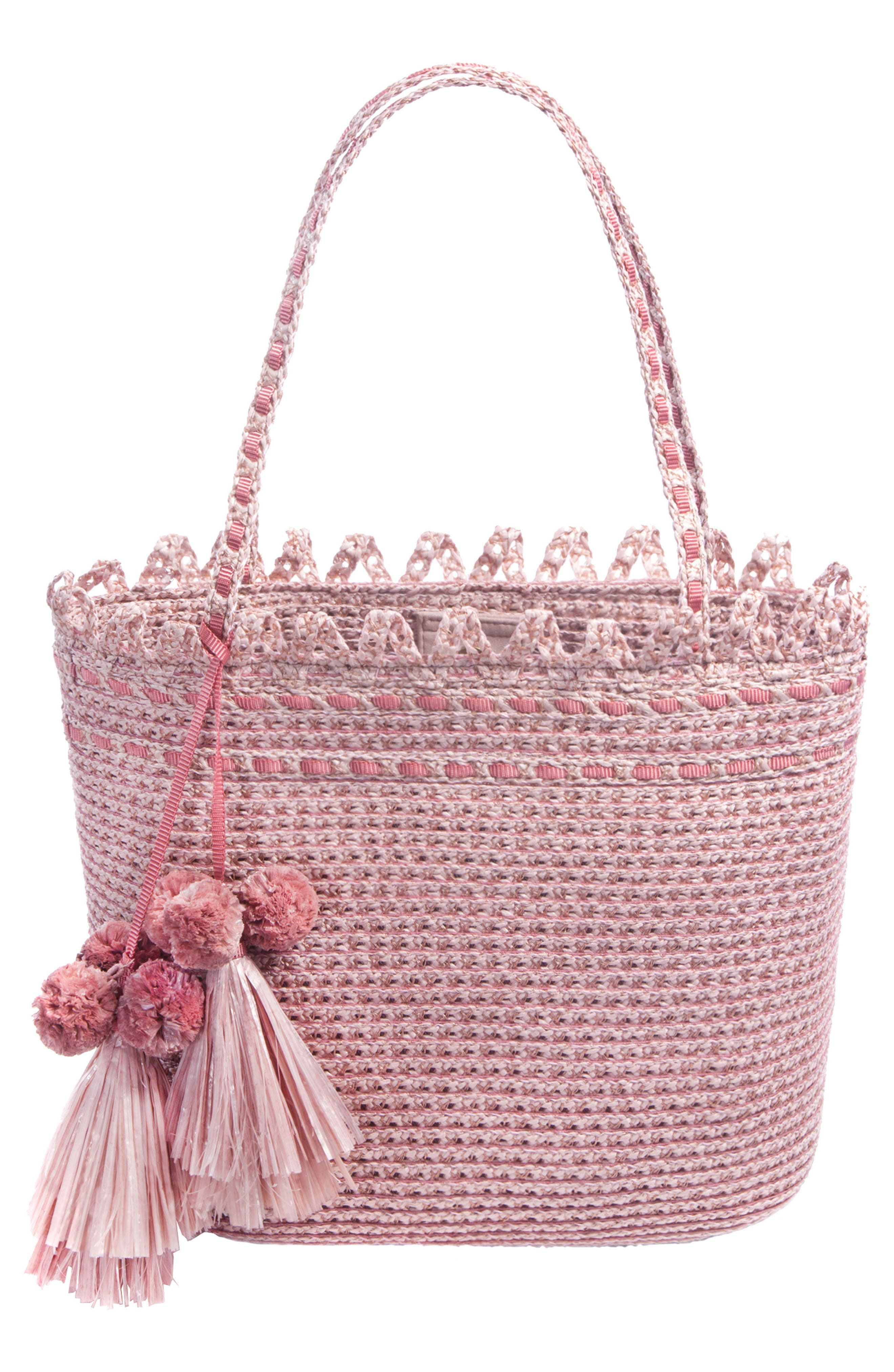 Bardot Squishee<sup>®</sup> Tote,                         Main,                         color, Blush