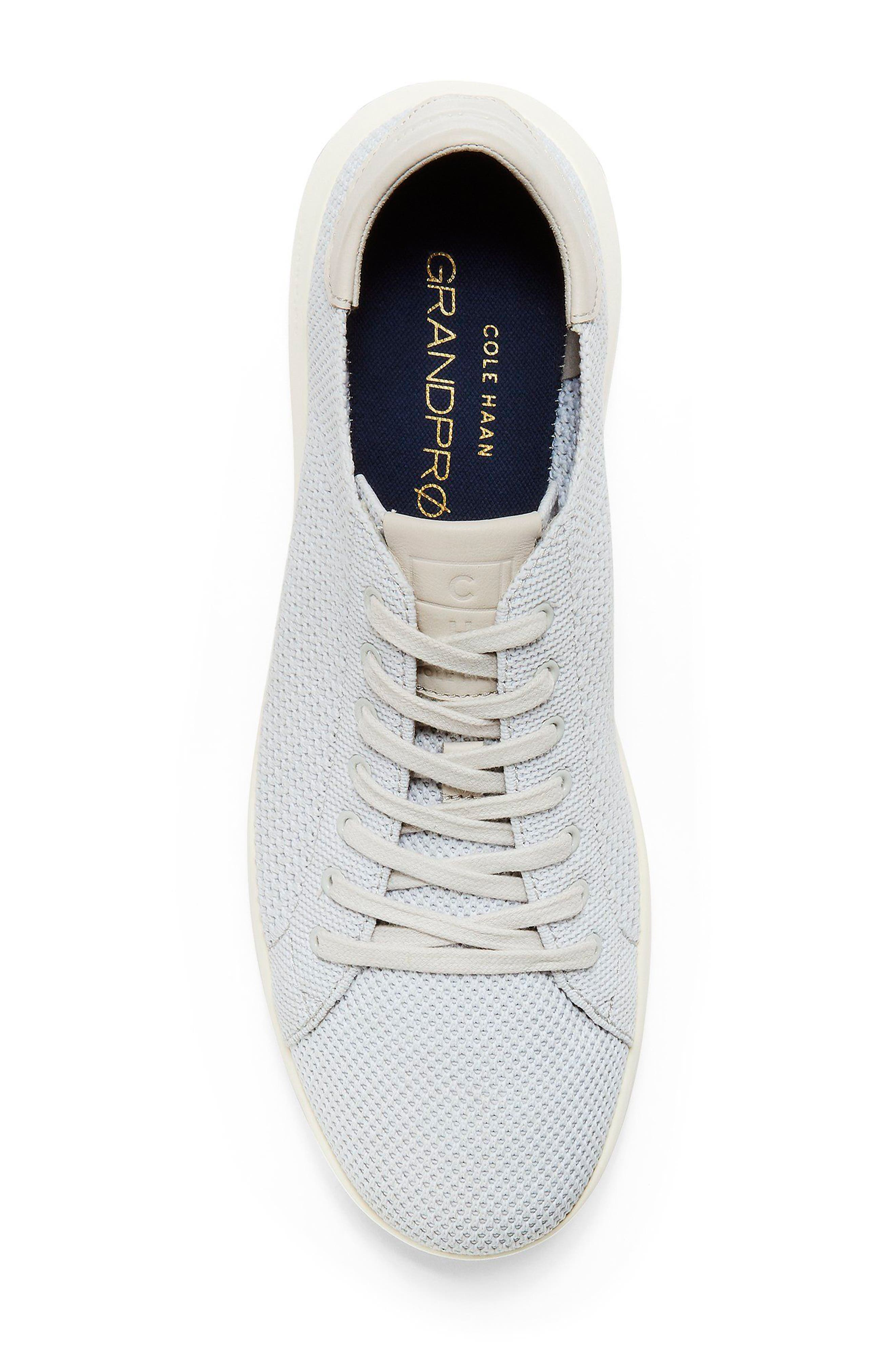 GrandPro Tennis Stitchlite Sneaker,                             Alternate thumbnail 5, color,                             Vapor Gray/ Optic White