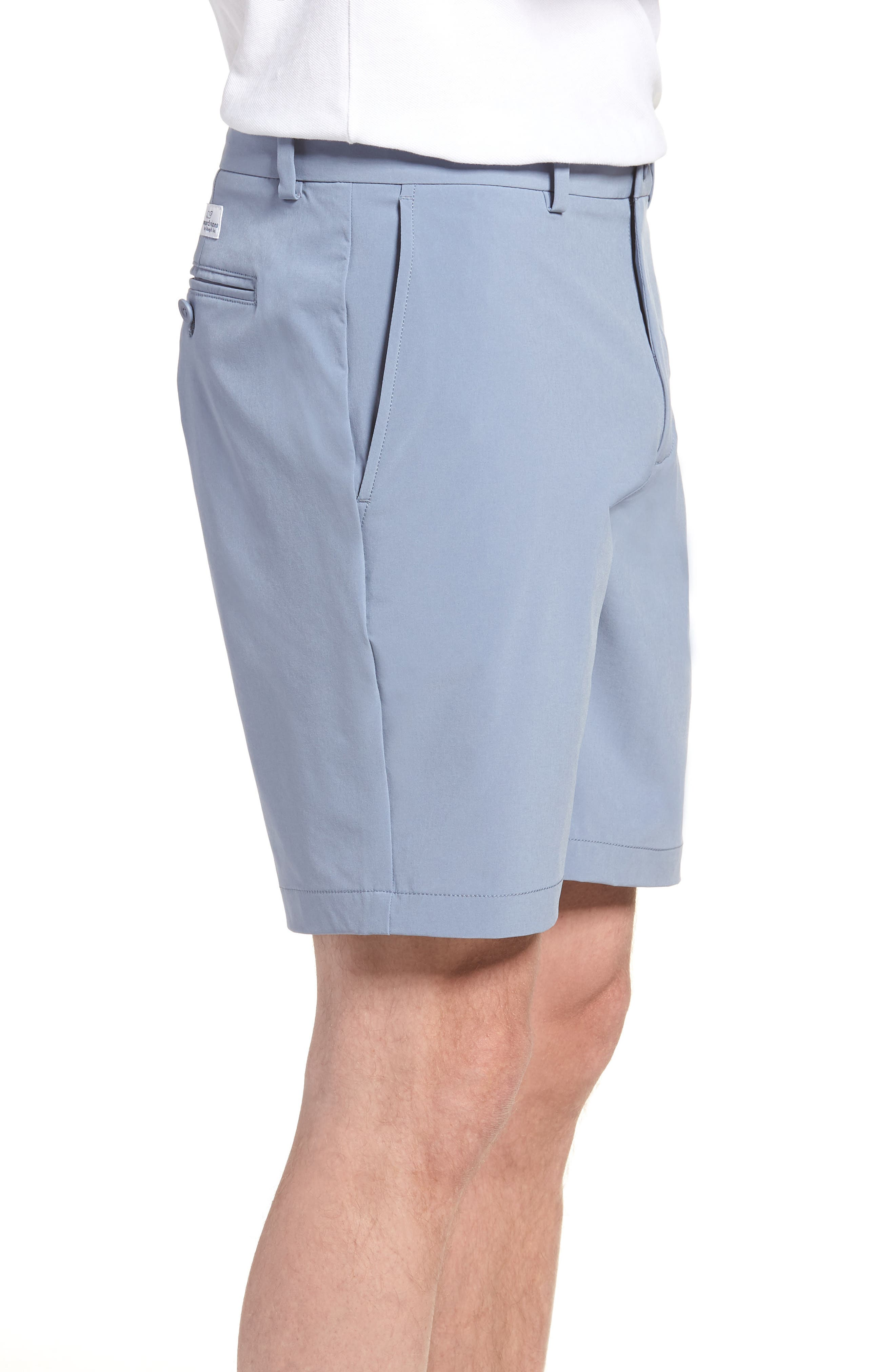 8 Inch Performance Breaker Shorts,                             Alternate thumbnail 3, color,                             Shark