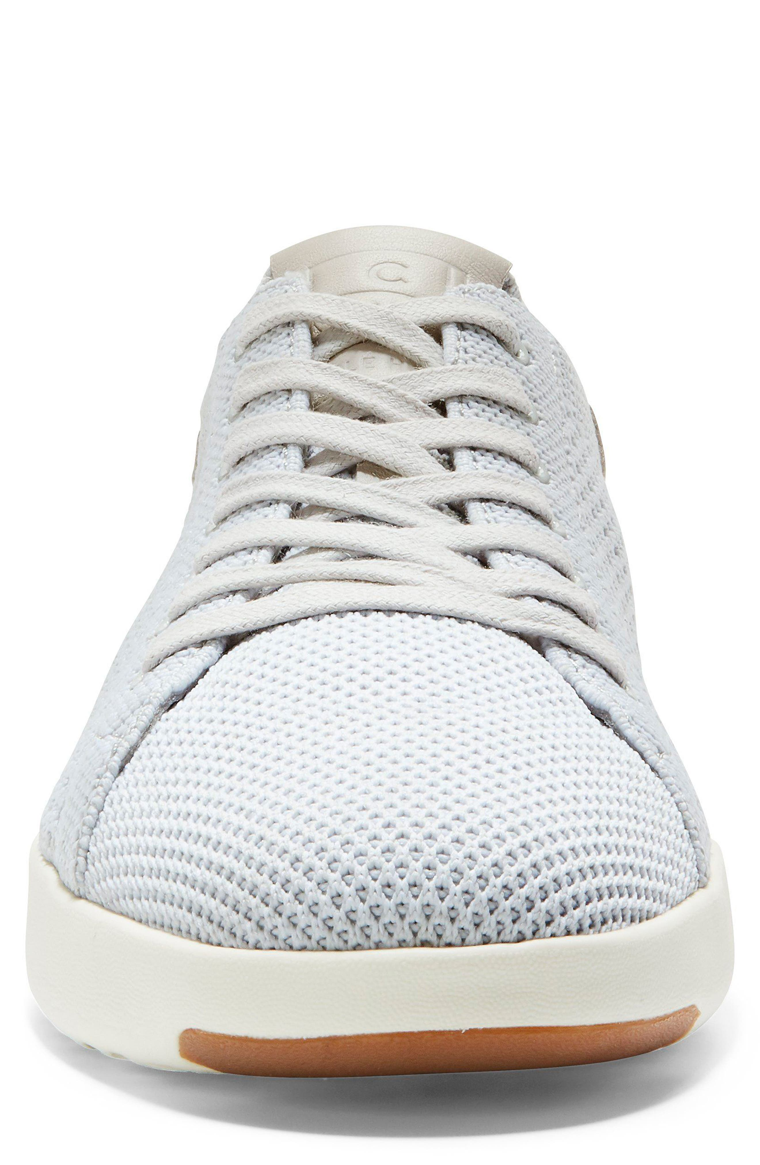 GrandPro Tennis Stitchlite Sneaker,                             Alternate thumbnail 4, color,                             Vapor Gray/ Optic White