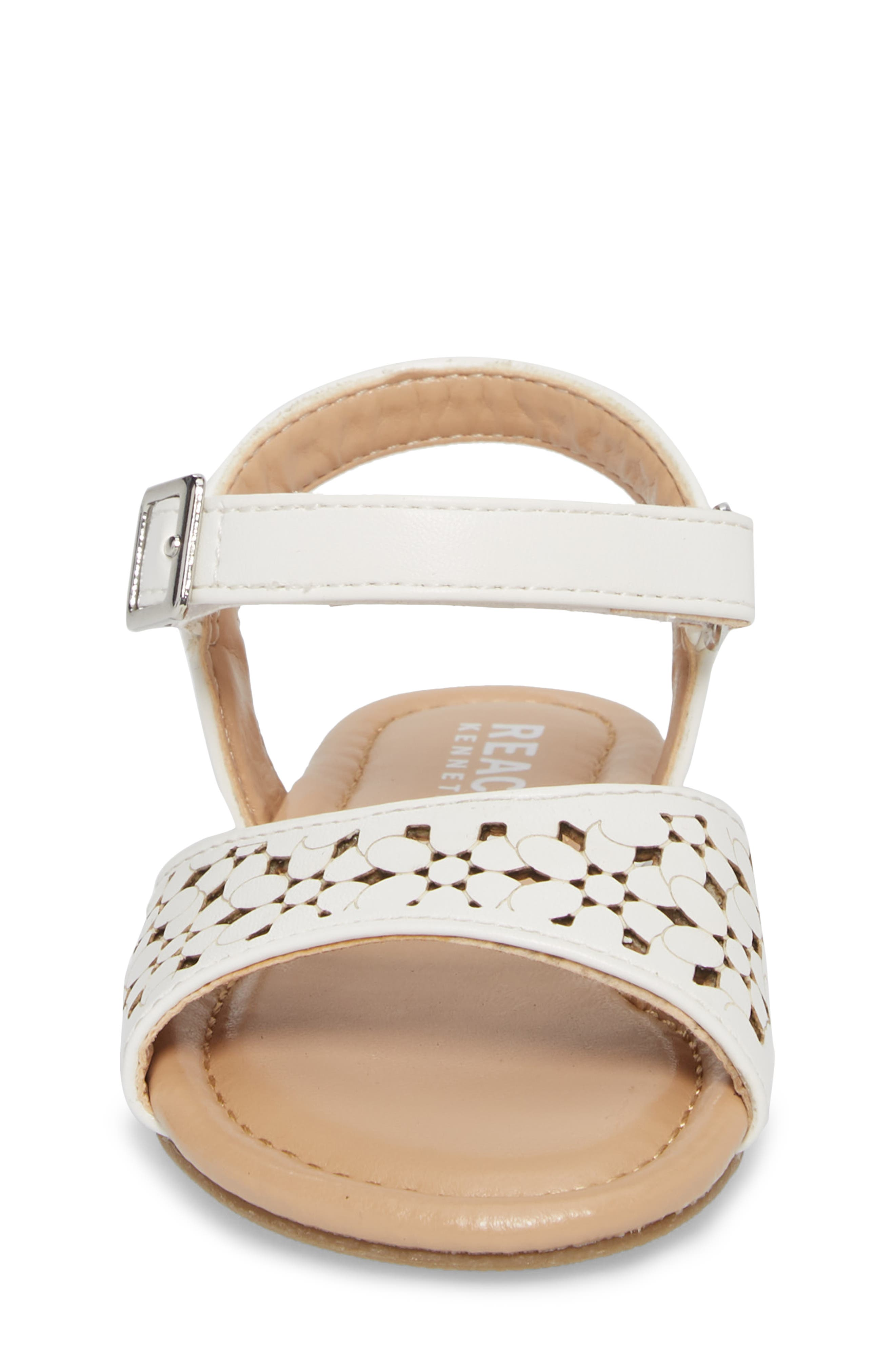 Alternate Image 4  - Kenneth Cole New York Kiera Perforated Sandal (Walker & Toddler)