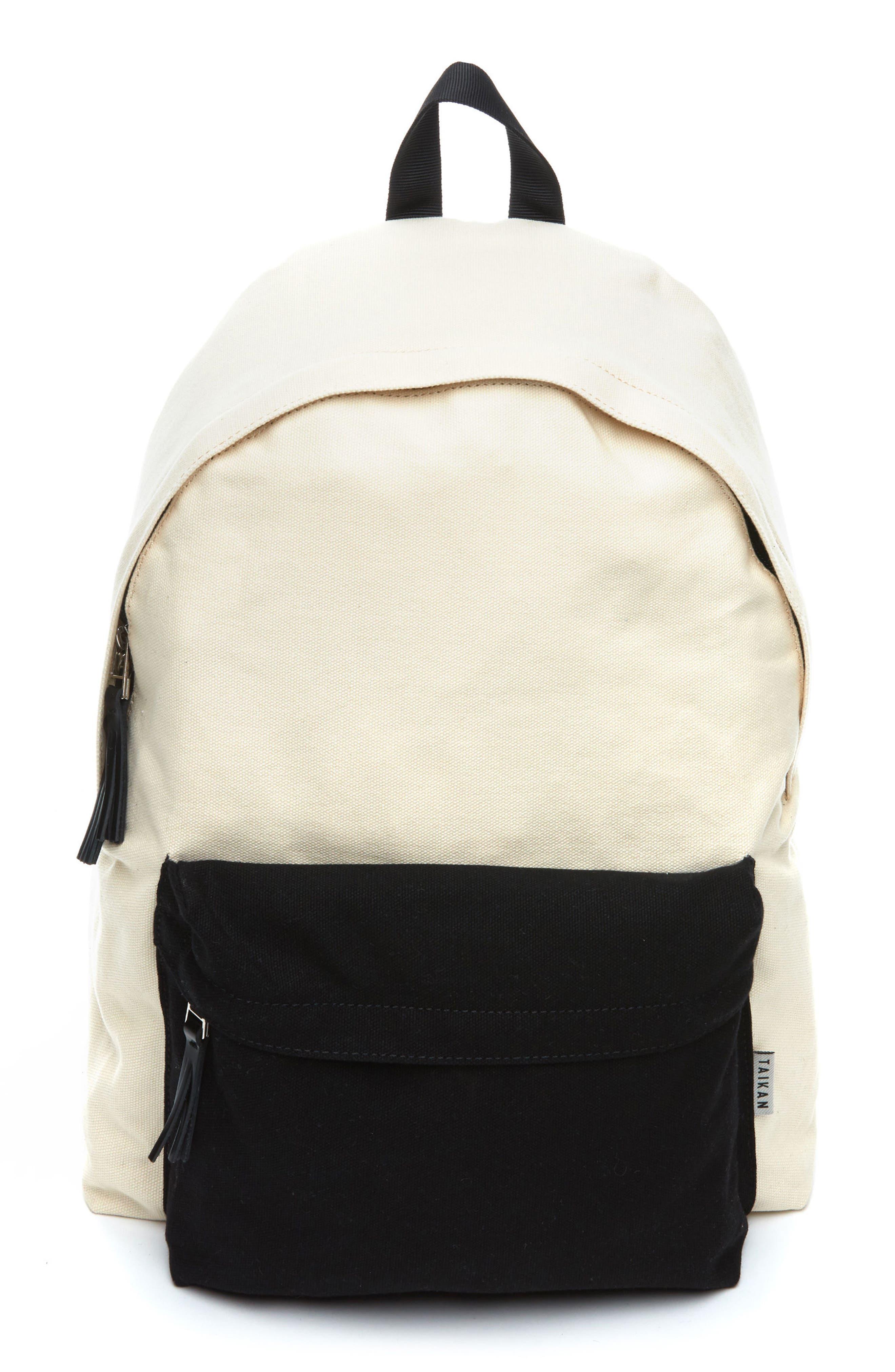 Hornet Backpack,                             Main thumbnail 1, color,                             Natural Cotton