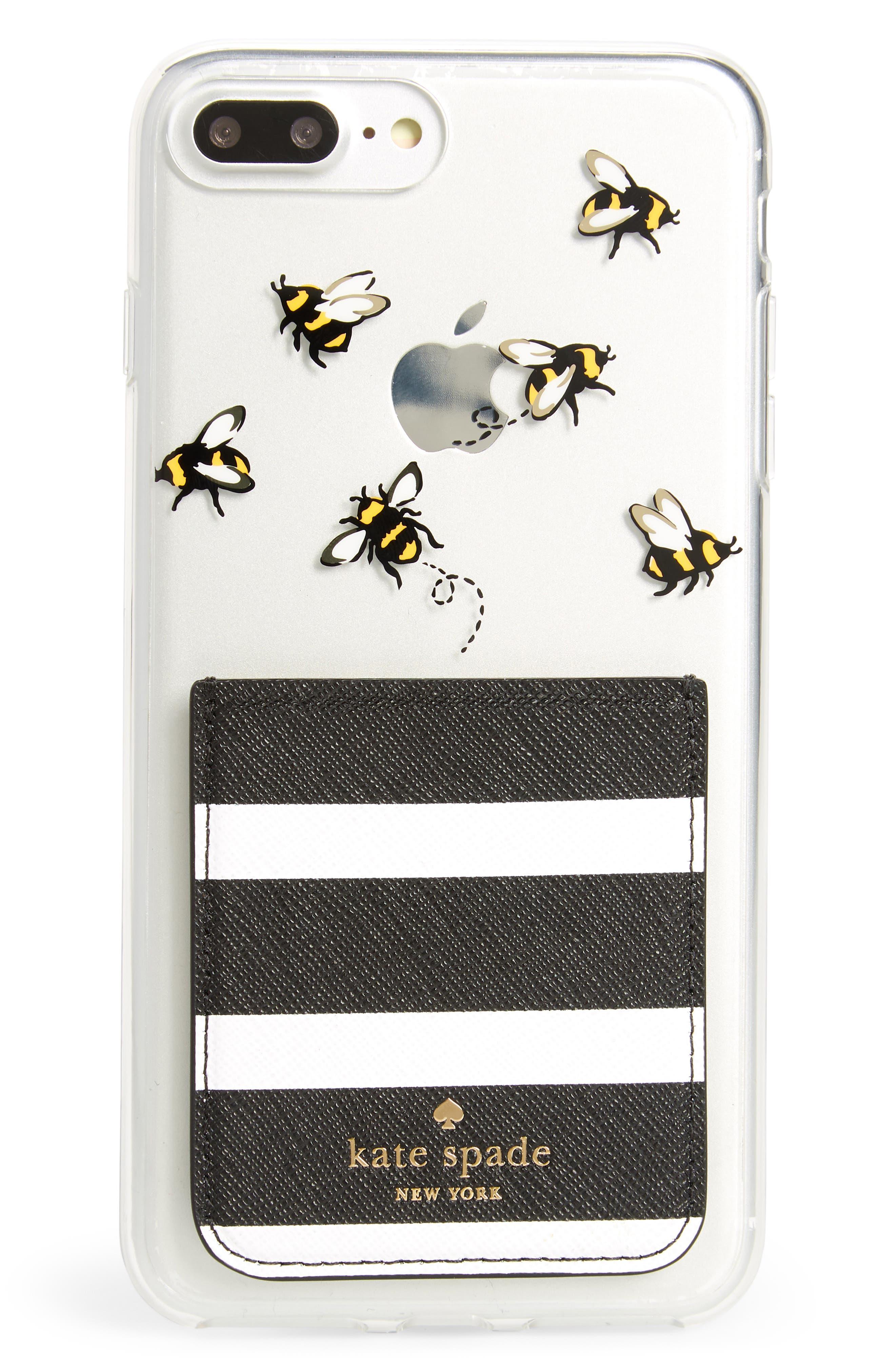 stick to it iPhone 7/8 & iPhone 7/8 Plus case & sticker pocket set,                             Alternate thumbnail 4, color,                             Multi