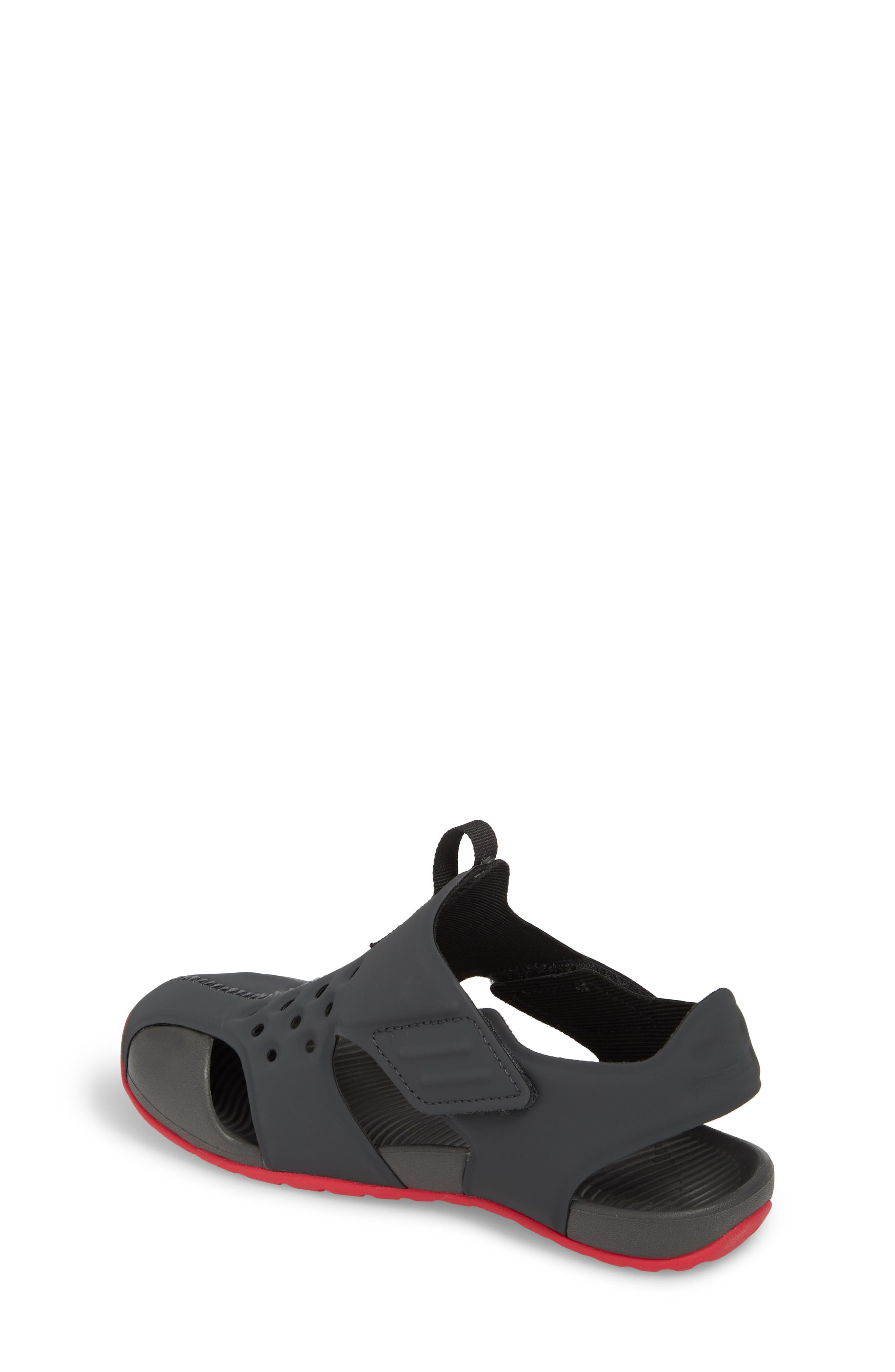 Sunray Protect 2 Sandal,                             Alternate thumbnail 2, color,                             Anthracite/ Rush Pink