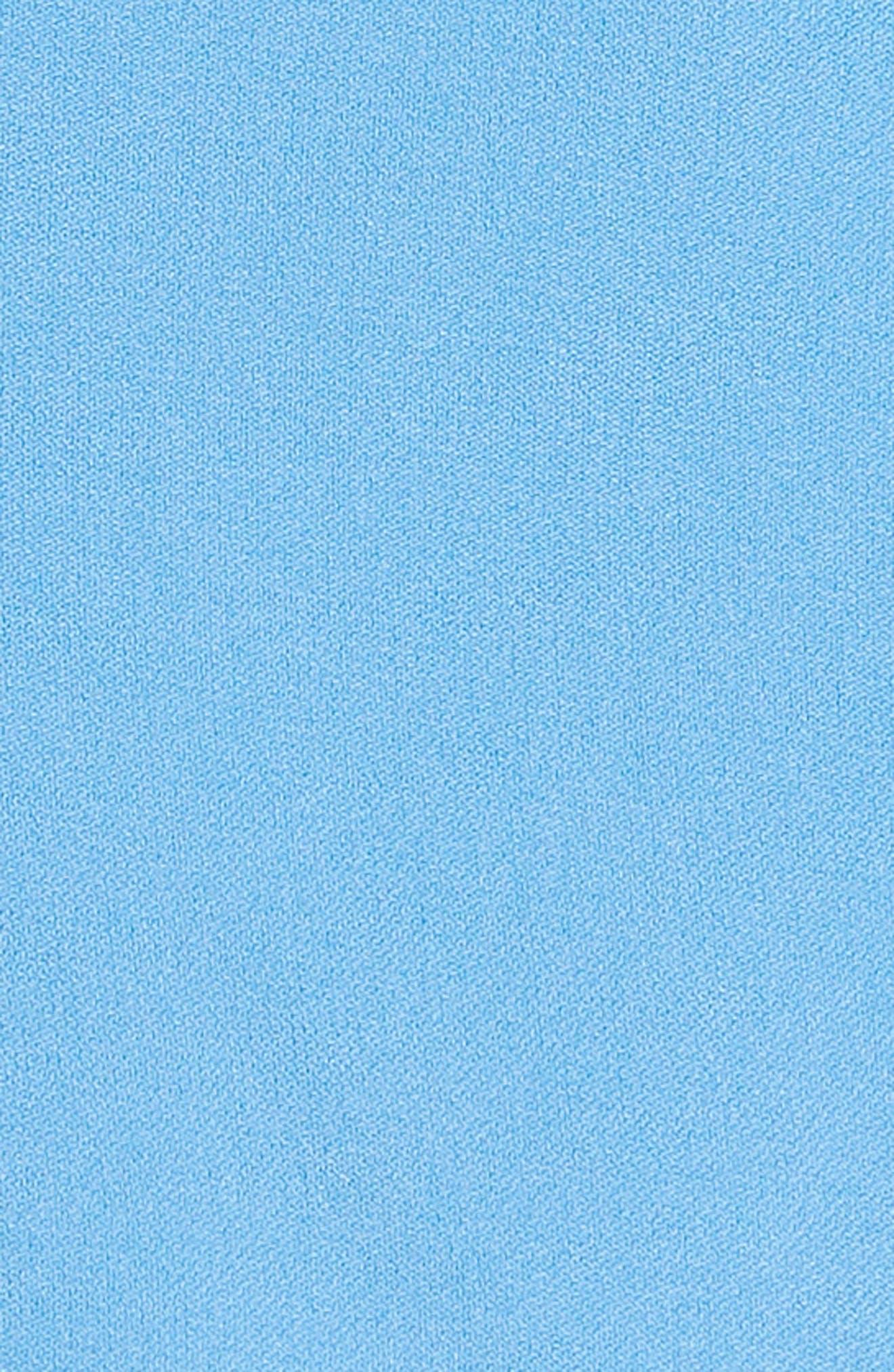 Kemi Bow Trim Top,                             Alternate thumbnail 5, color,                             Agapanthus