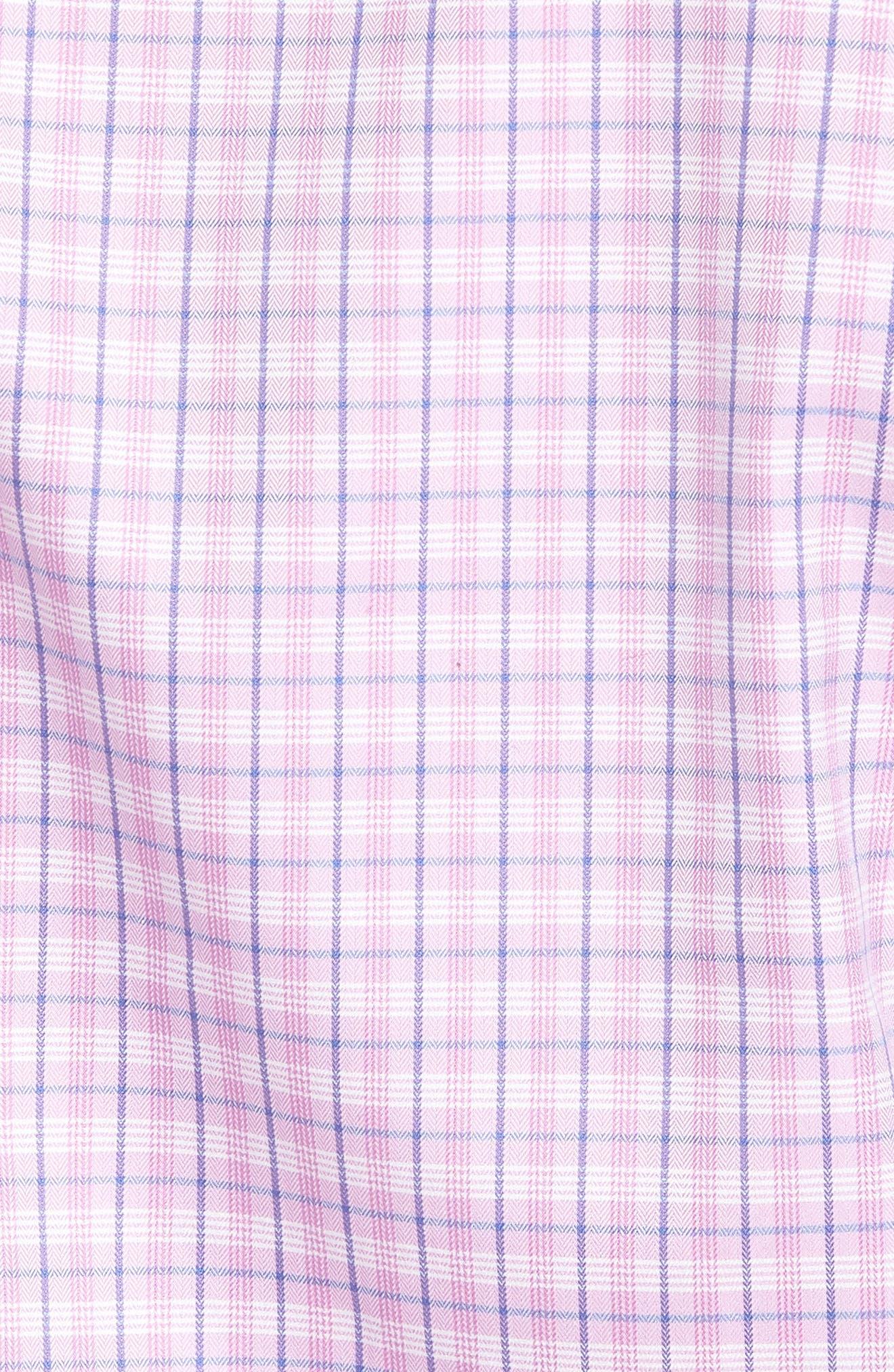 Sport Shirt,                             Alternate thumbnail 5, color,                             Berry