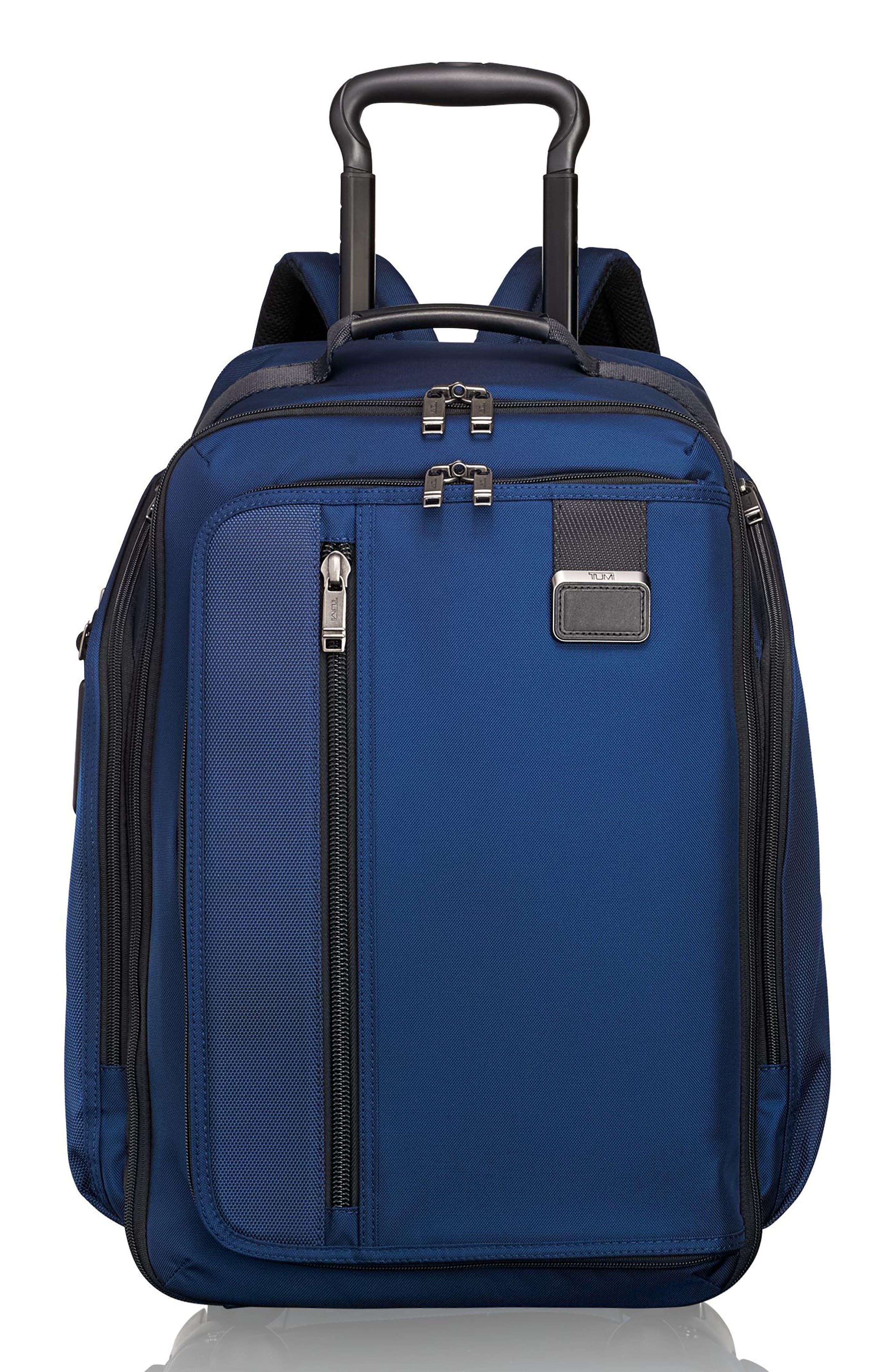 Merge - Rolling Backpack,                         Main,                         color, Ocean Blue
