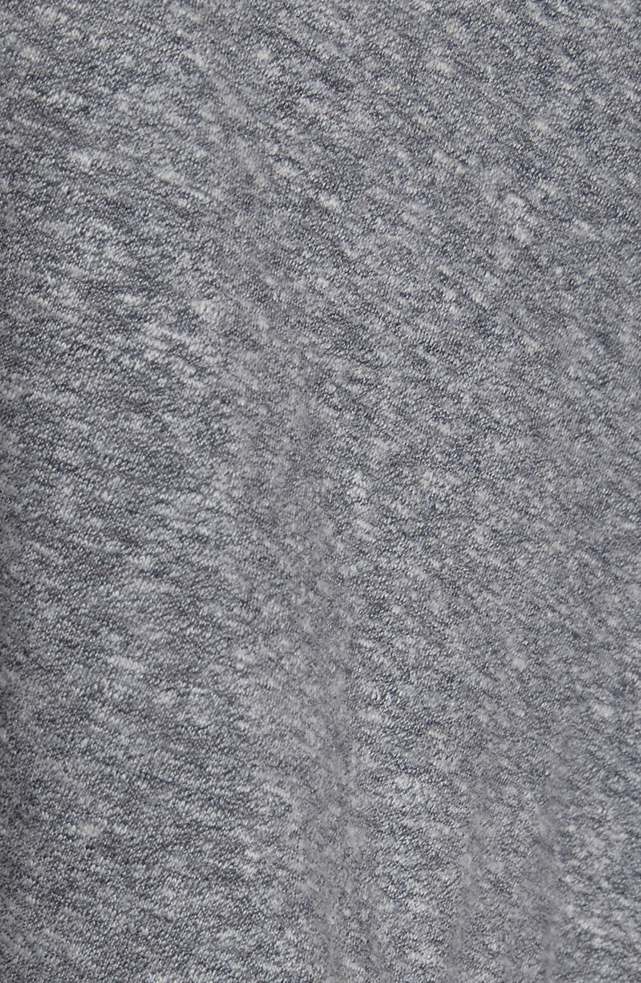 Stevie Crop Tank,                             Alternate thumbnail 5, color,                             Dark Grey