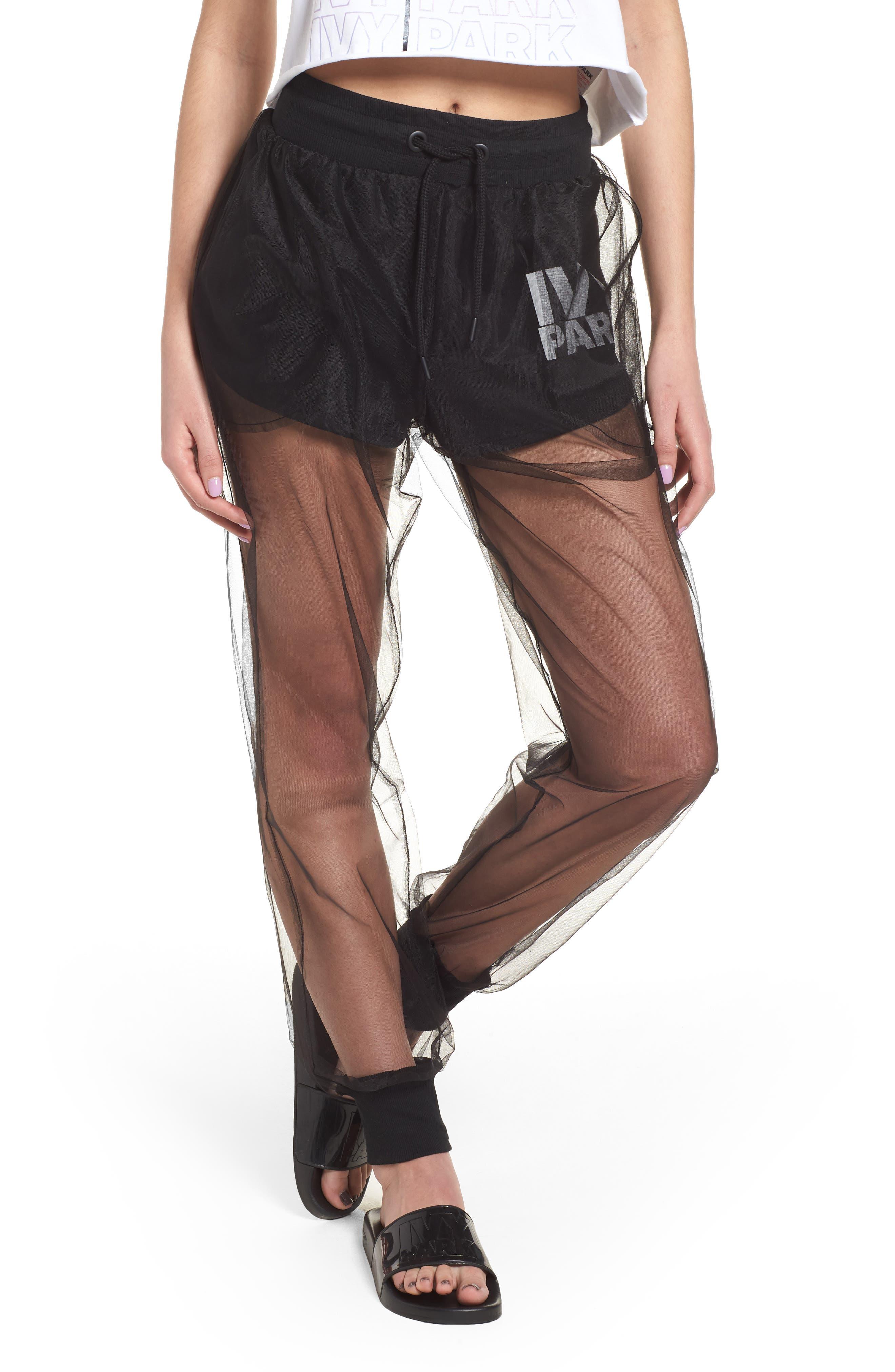 IVY PARK® Festival Tulle Jogger Pants