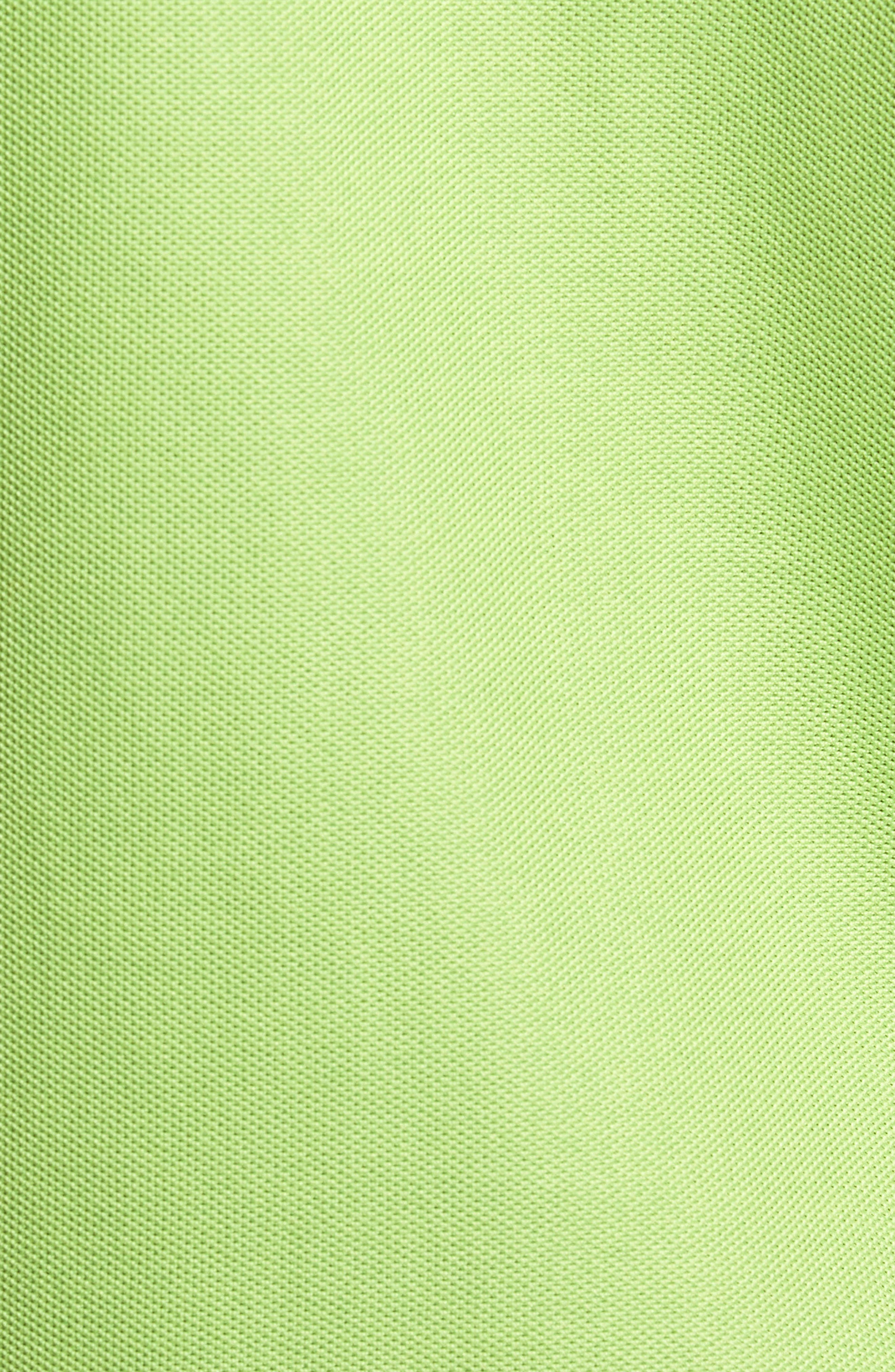 'The Emfielder' Original Fit Piqué Polo,                             Alternate thumbnail 4, color,                             Caicos Green