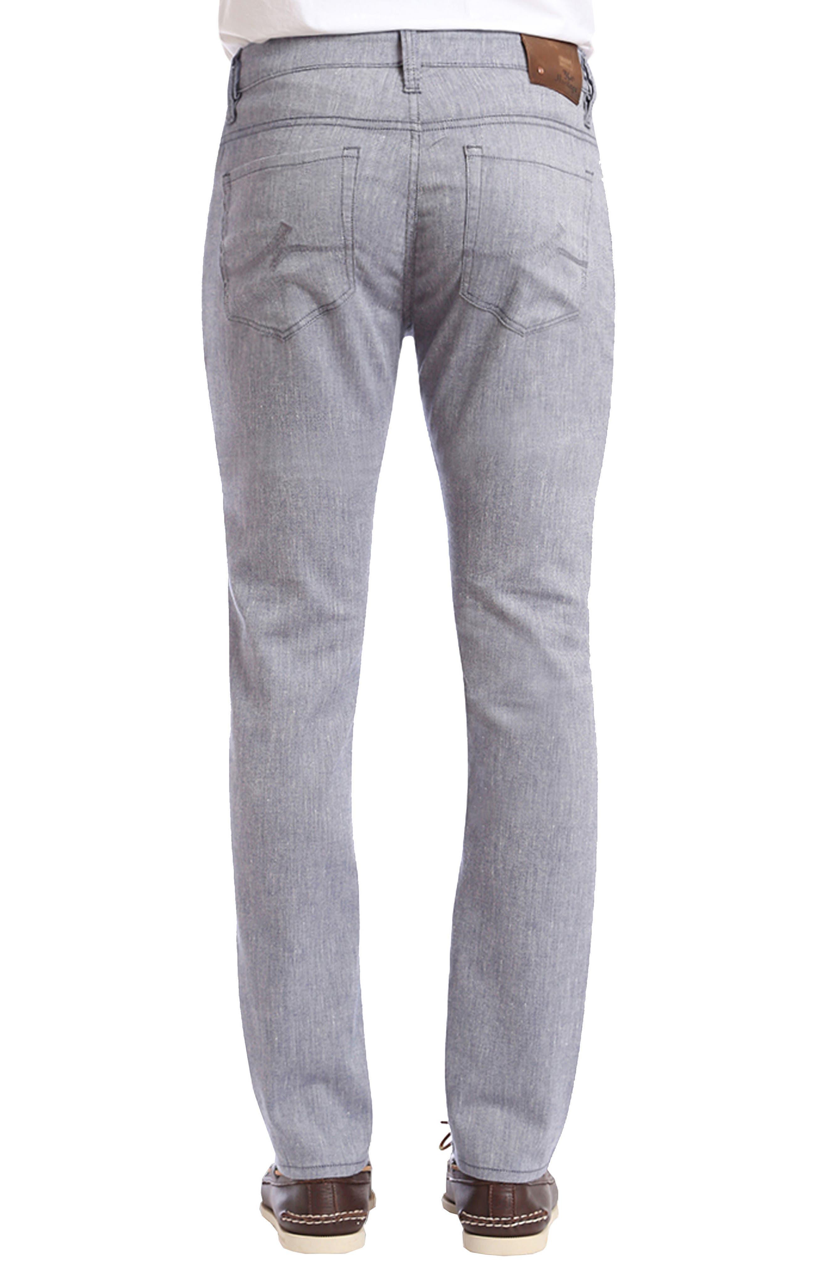 Courage Straight Leg Jeans,                             Alternate thumbnail 2, color,                             Indigo Textured